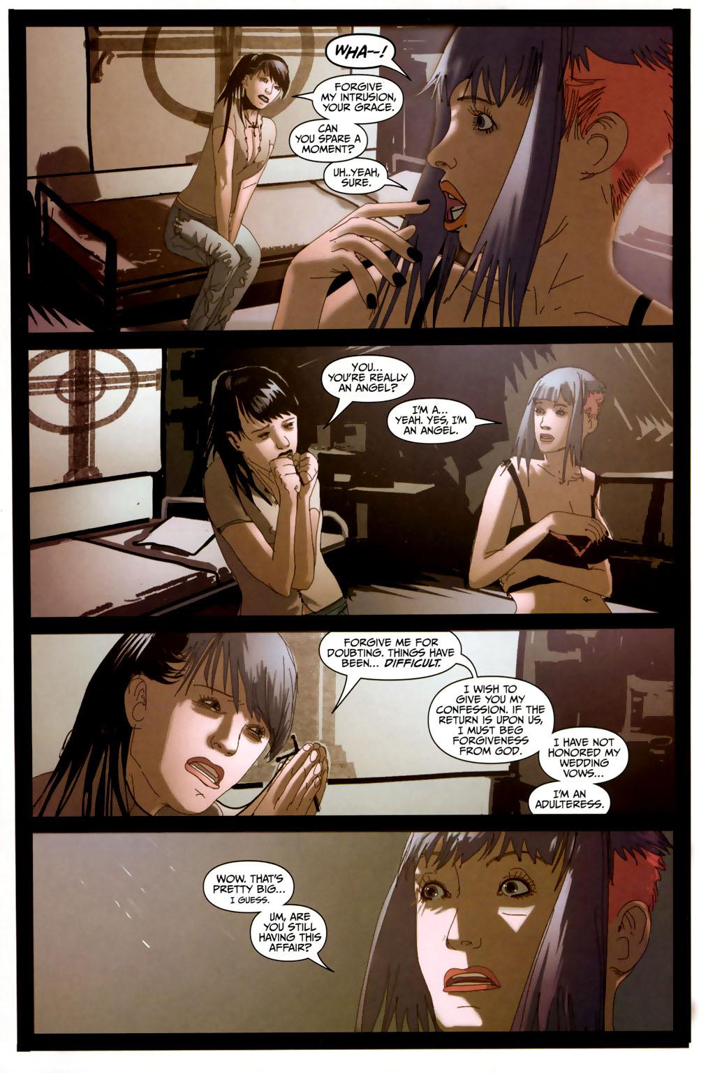 Read online Strange Girl comic -  Issue #6 - 7