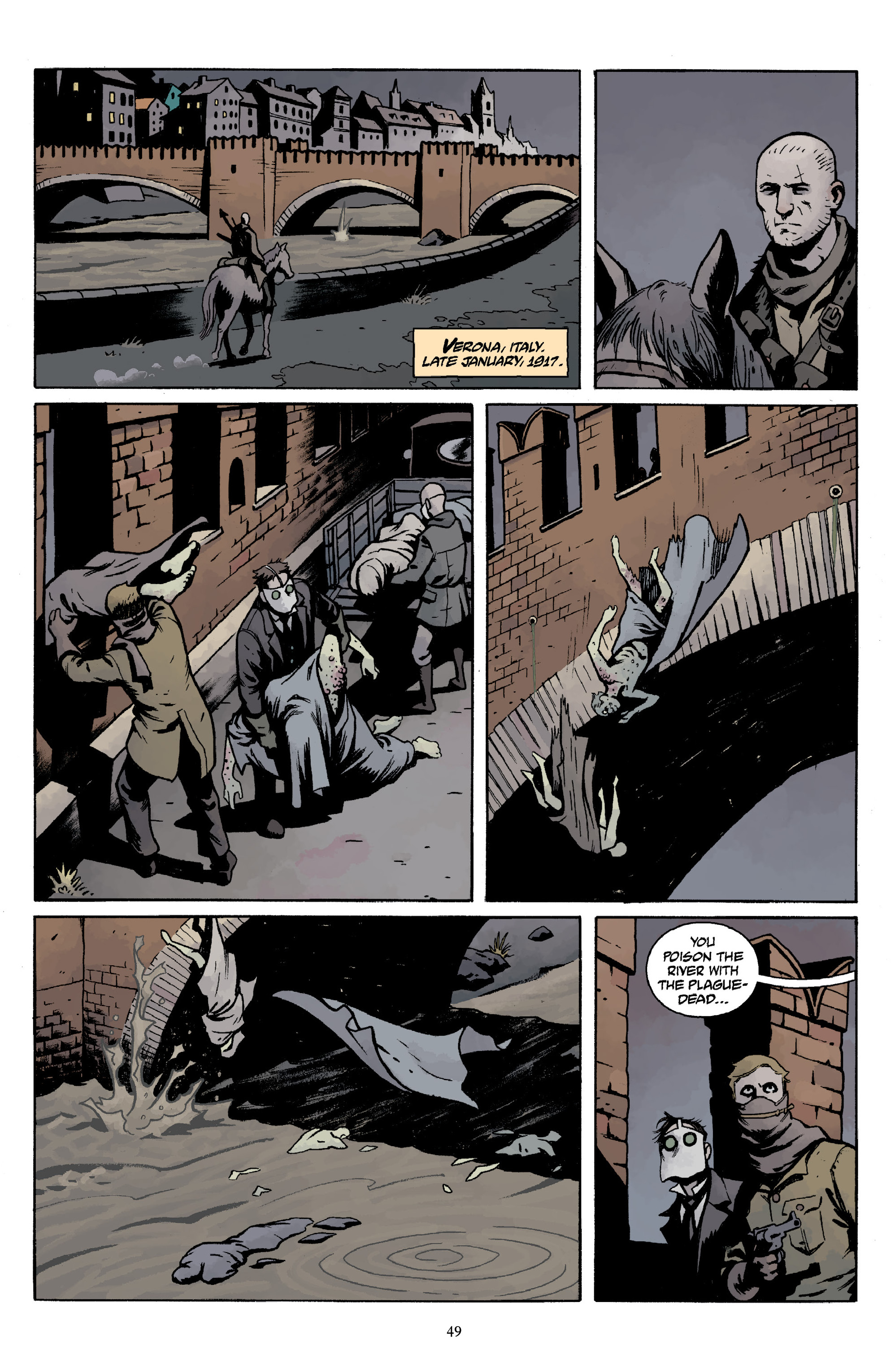 Read online Baltimore Volume 3: A Passing Stranger and Other Stories comic -  Issue # Full - 51