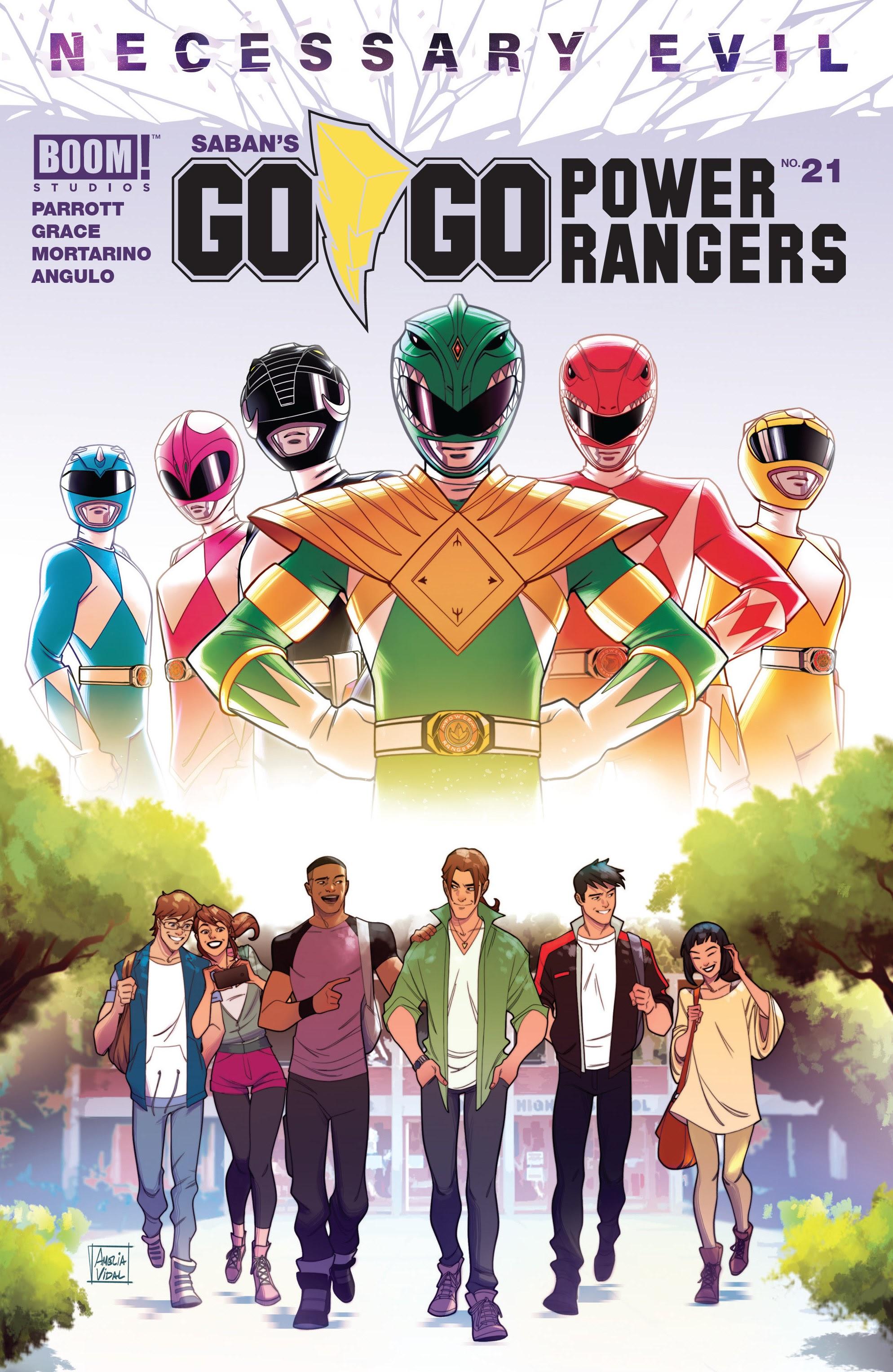 Sabans Go Go Power Rangers 21 Page 1