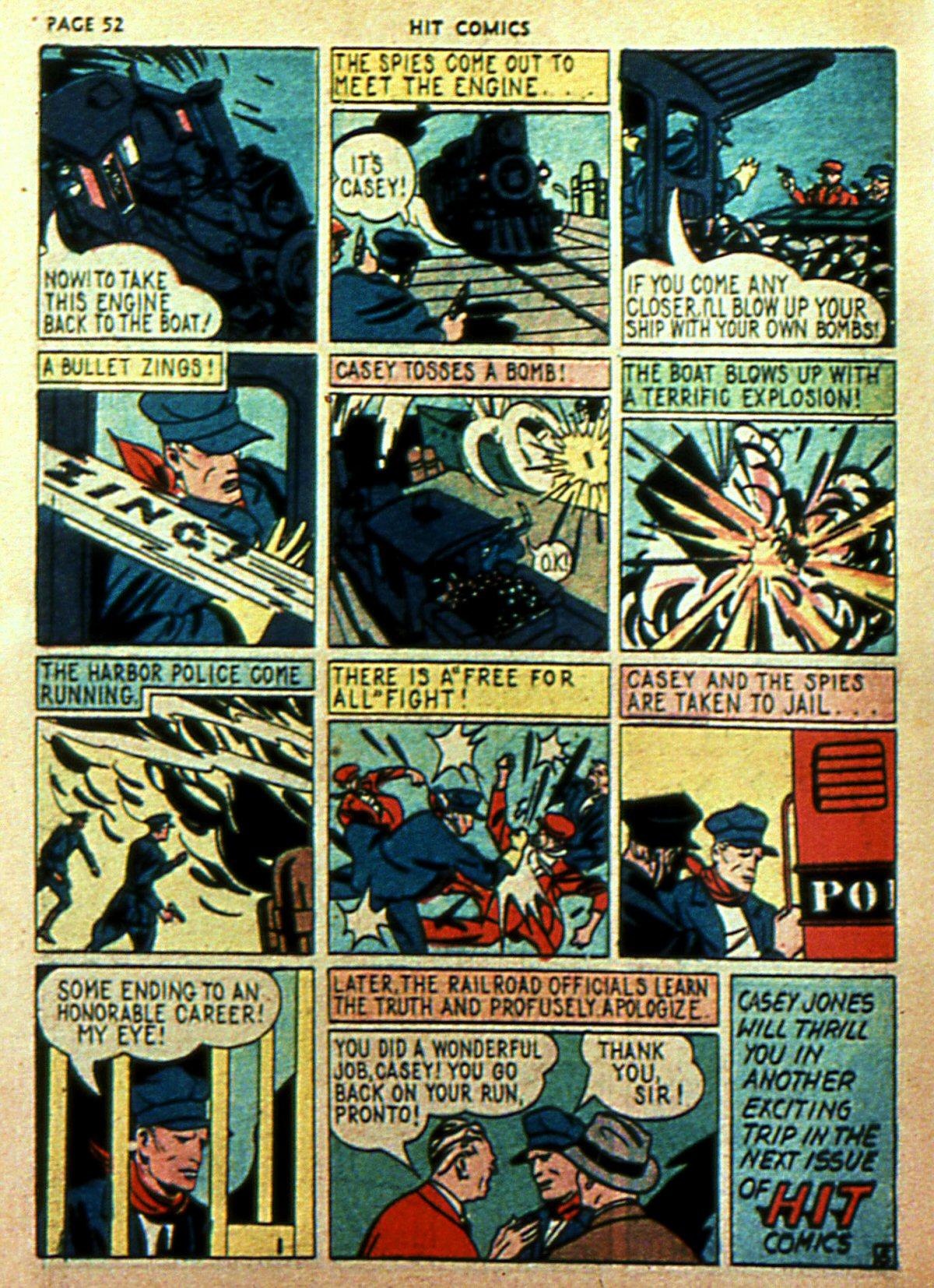 Read online Hit Comics comic -  Issue #2 - 54