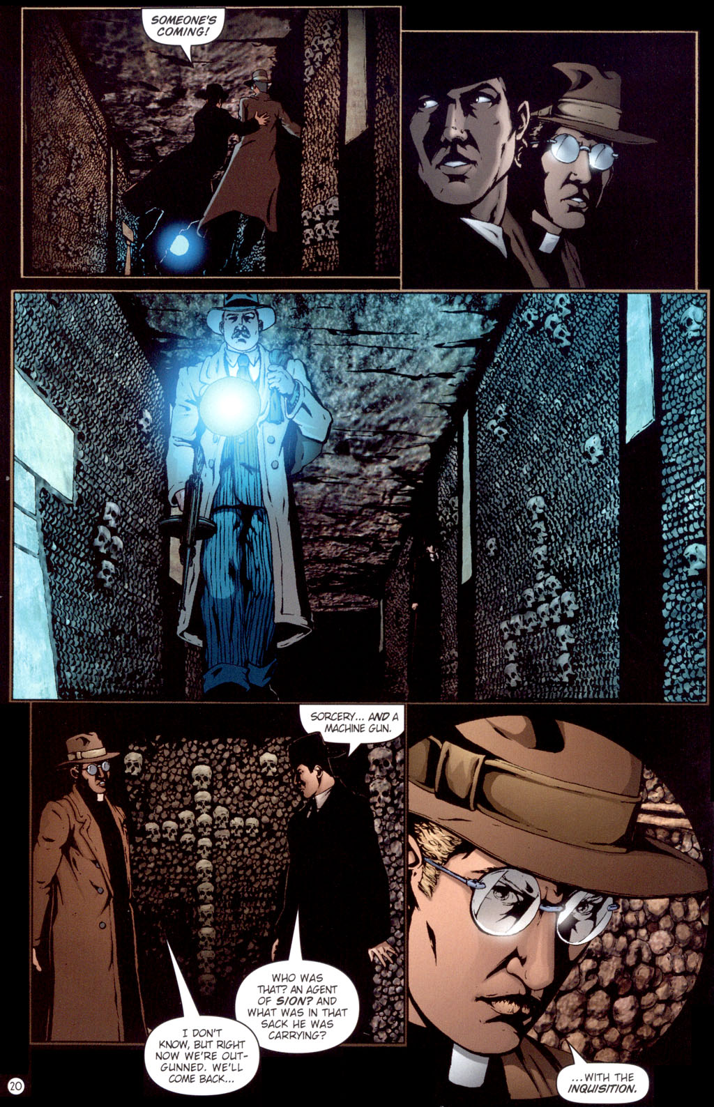 Read online Rex Mundi comic -  Issue #13 - 22