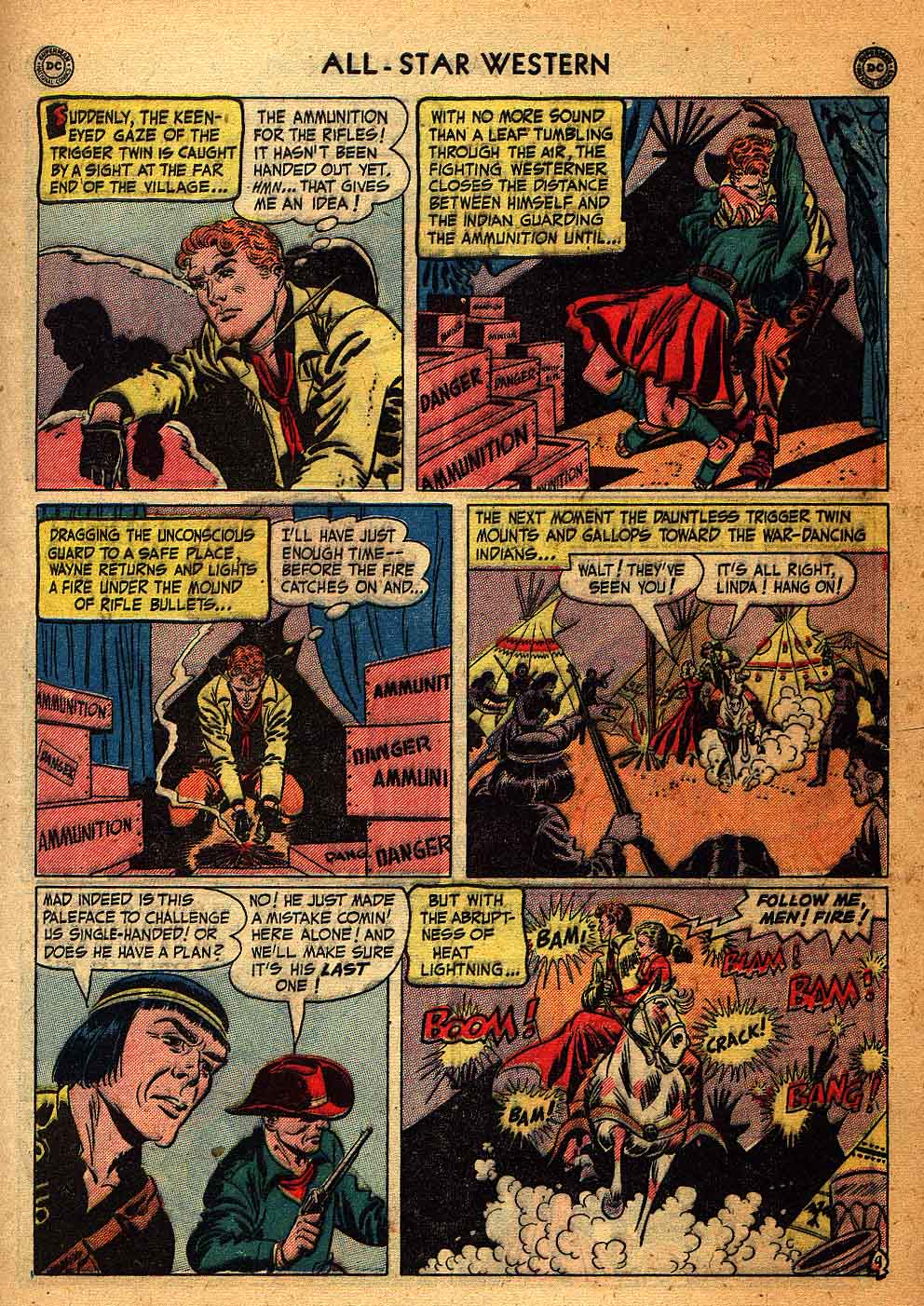 Read online All-Star Western (1951) comic -  Issue #58 - 11