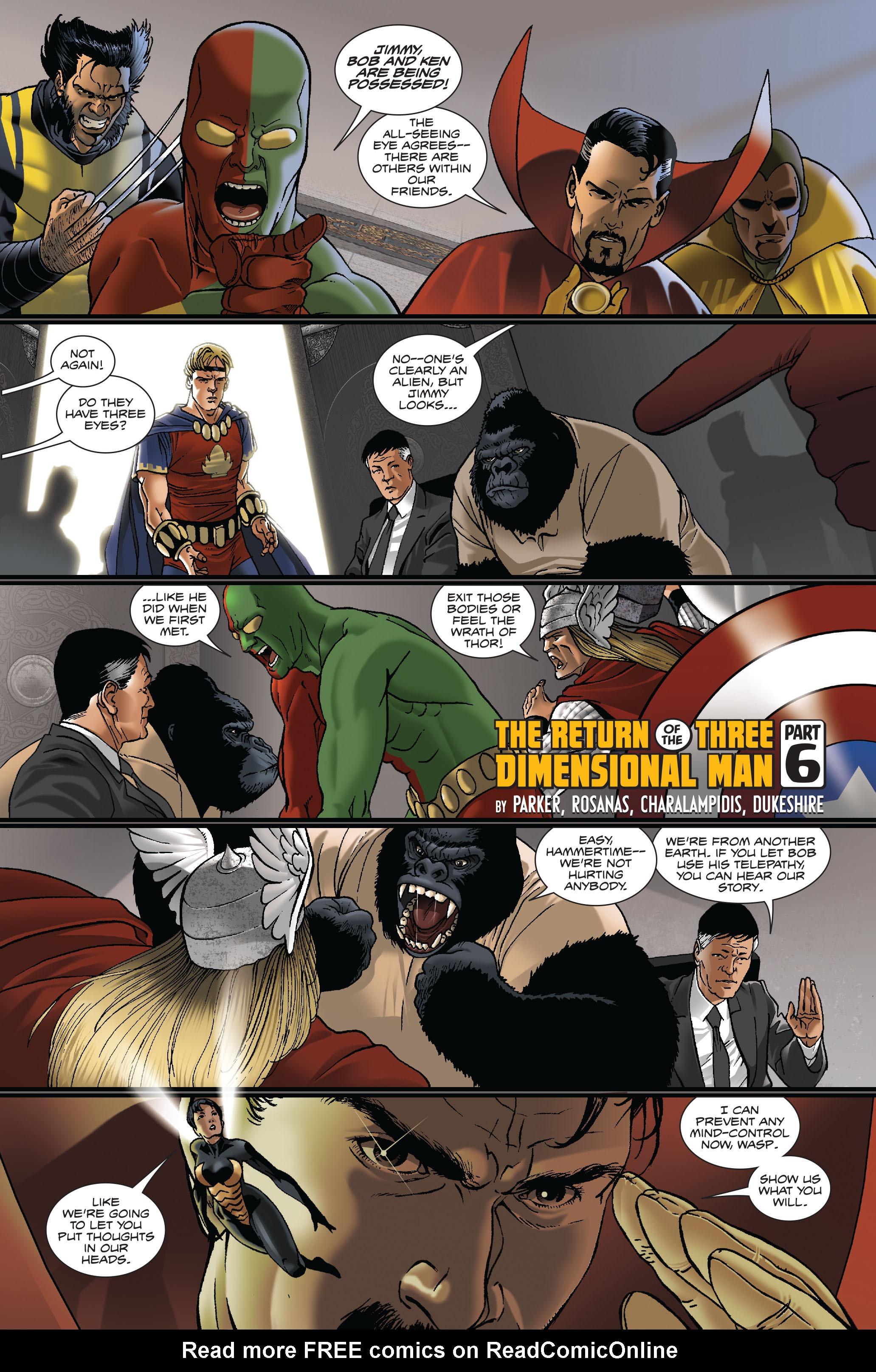 Read online Atlas comic -  Issue #5 - 3