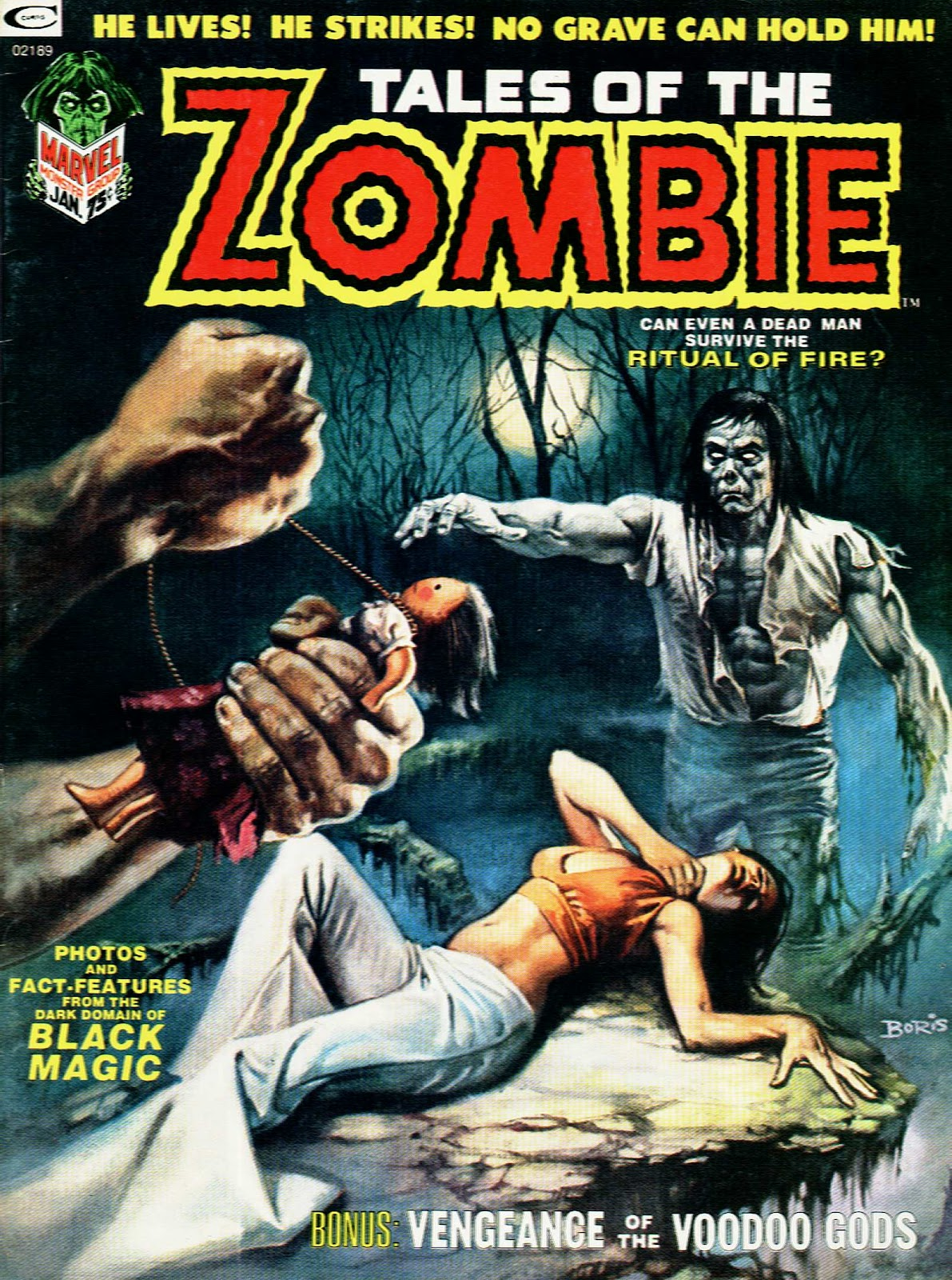 Zombie (1973) issue 3 - Page 1
