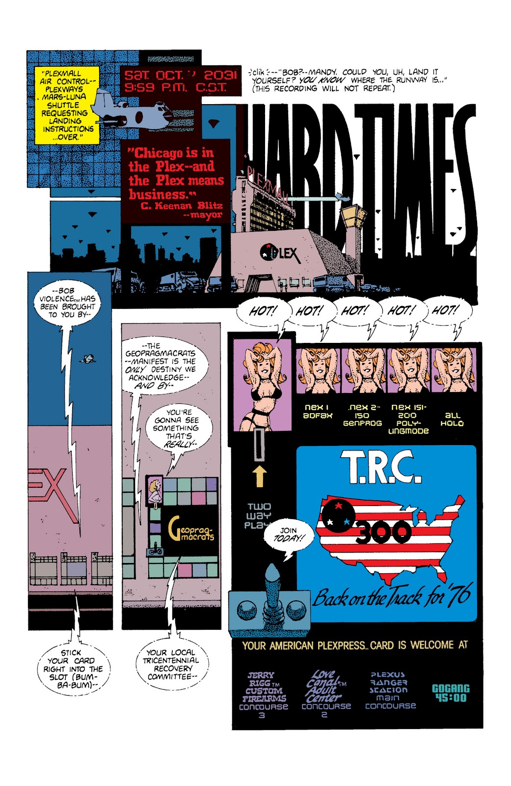 American Flagg! issue Definitive Collection (Part 1) - Page 22