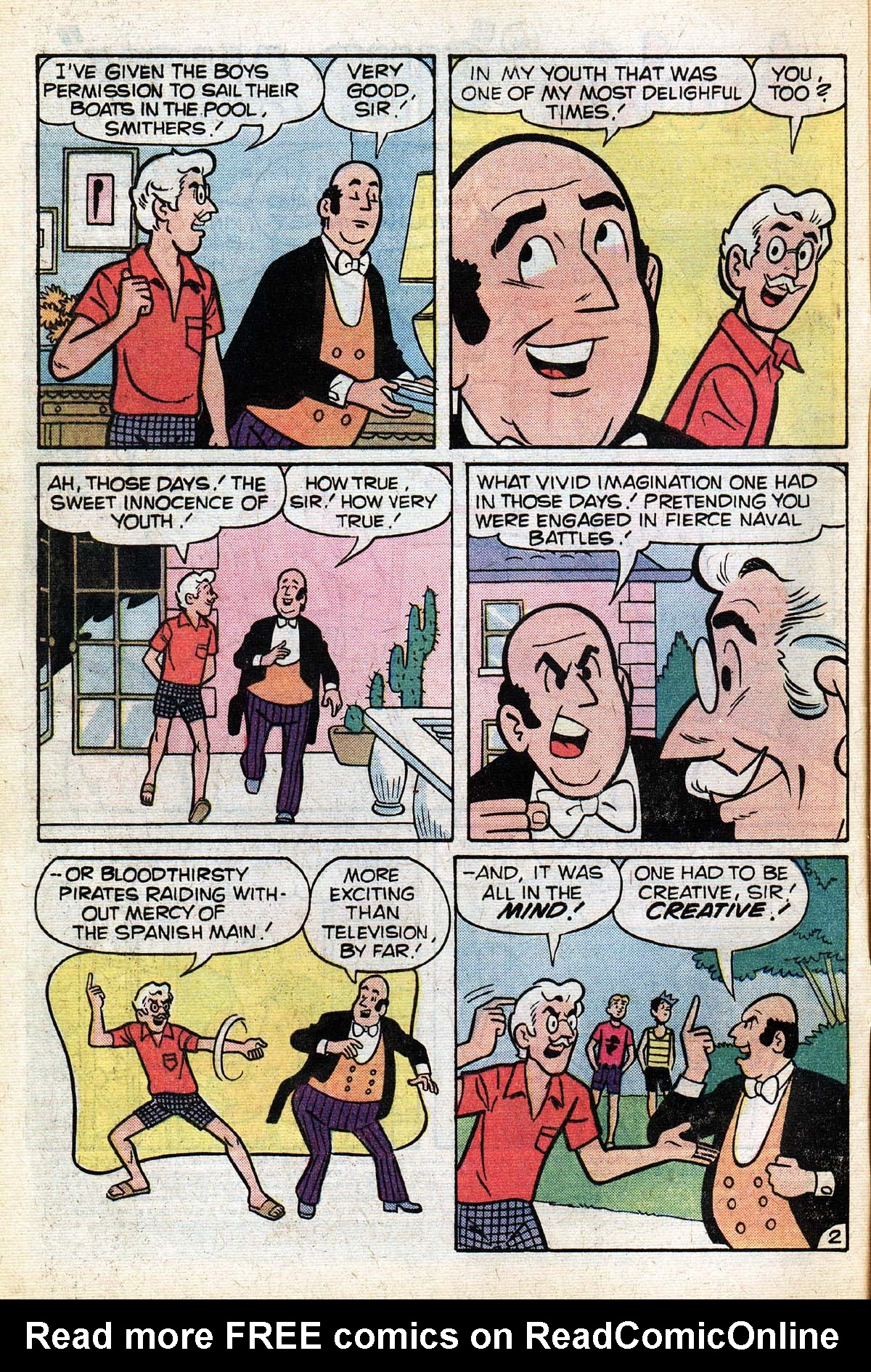 Read online Archie (1960) comic -  Issue #267 - 4