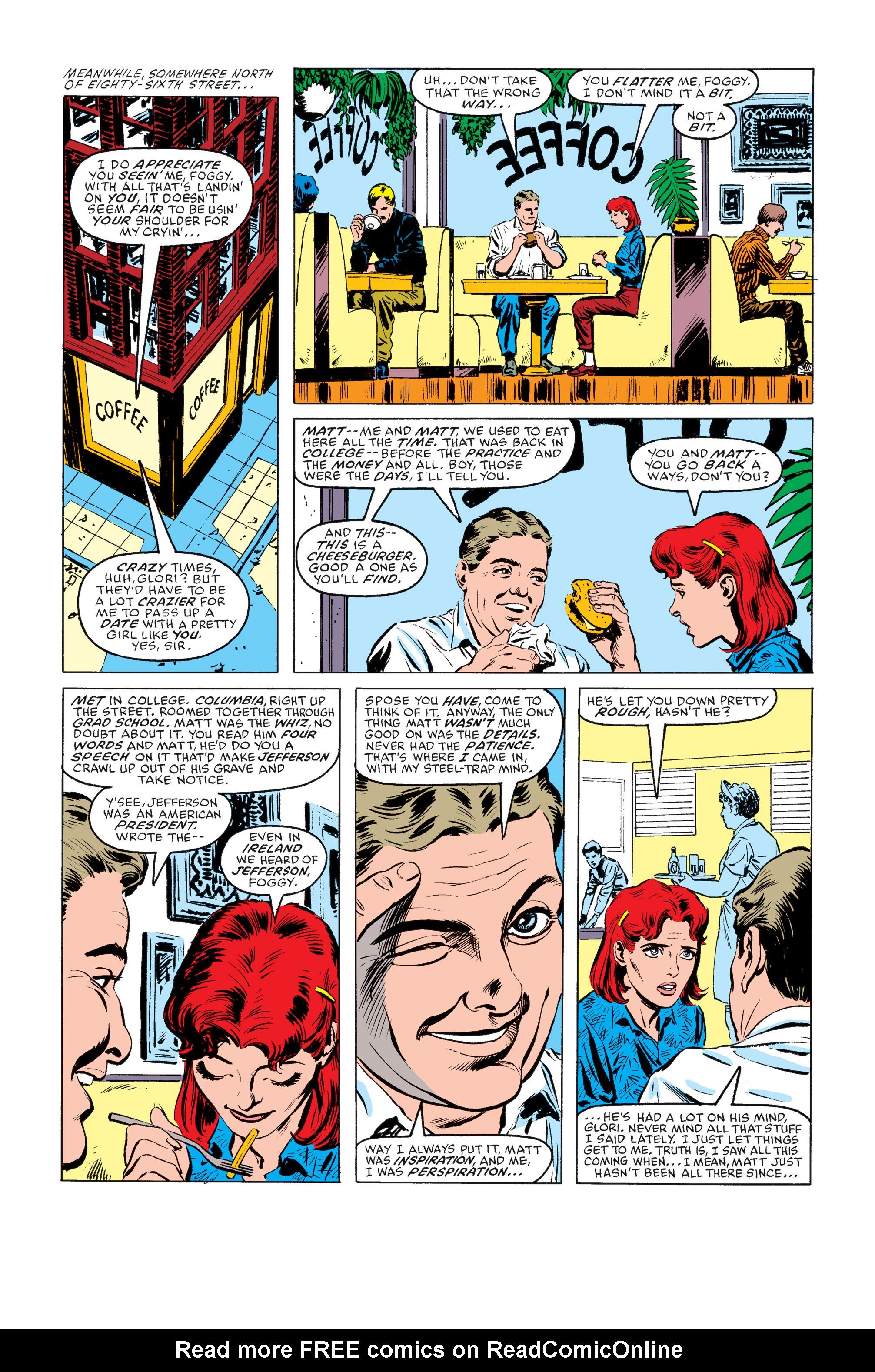 Read online Daredevil: Born Again comic -  Issue # Full - 13