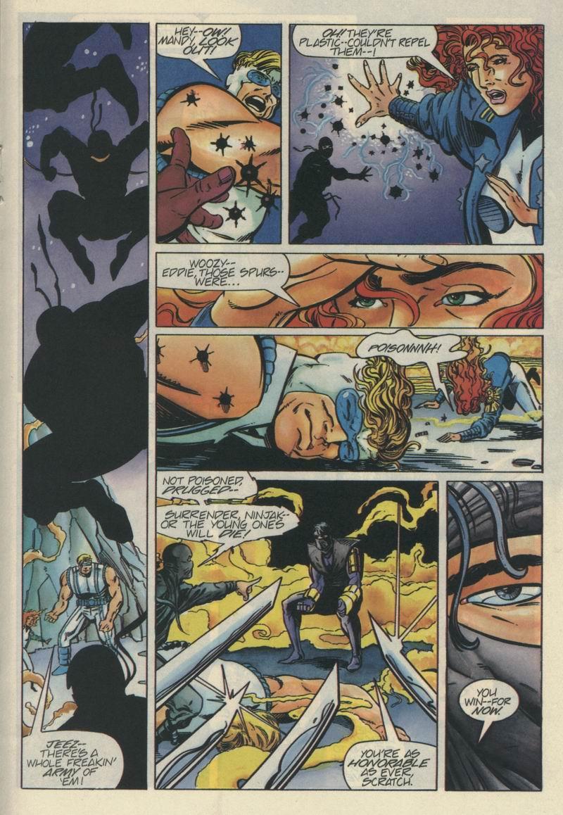 Read online Secret Weapons comic -  Issue #5 - 15