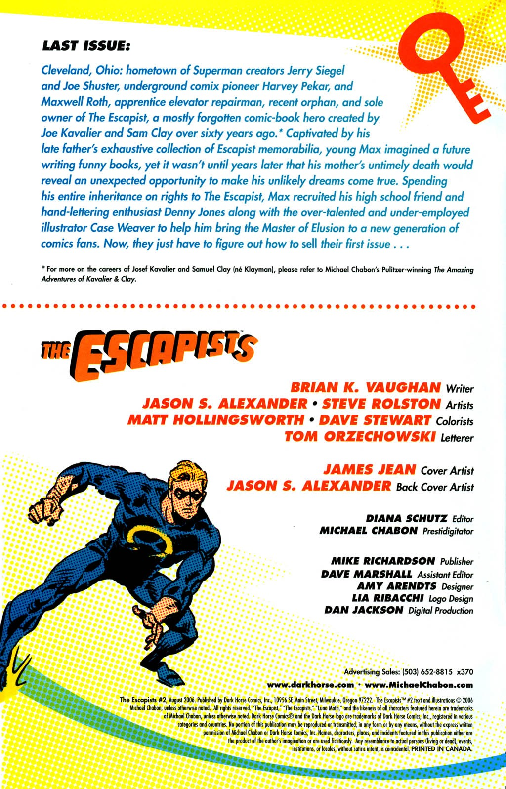 Read online The Escapists comic -  Issue #2 - 2