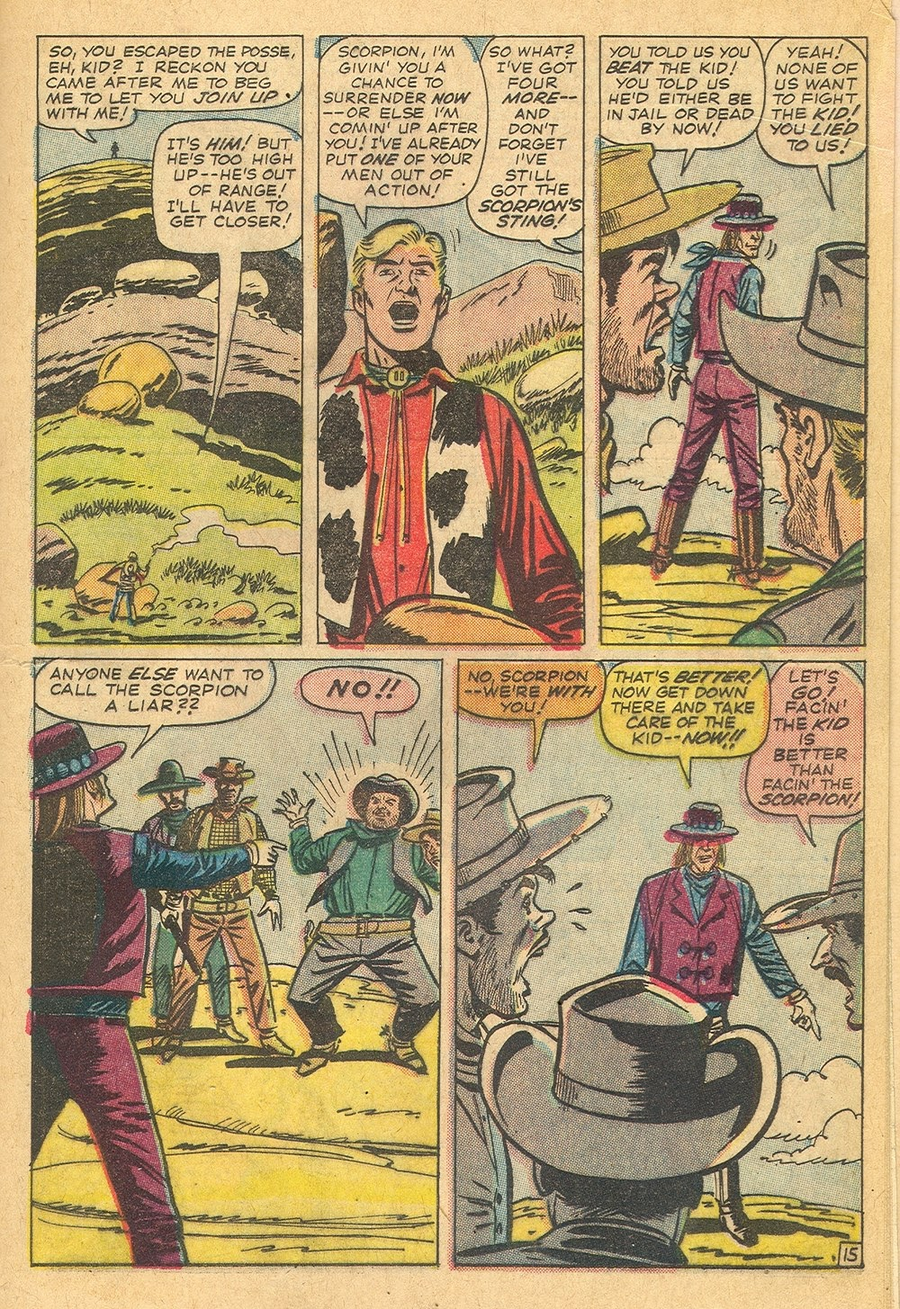 Kid Colt Outlaw issue 115 - Page 21
