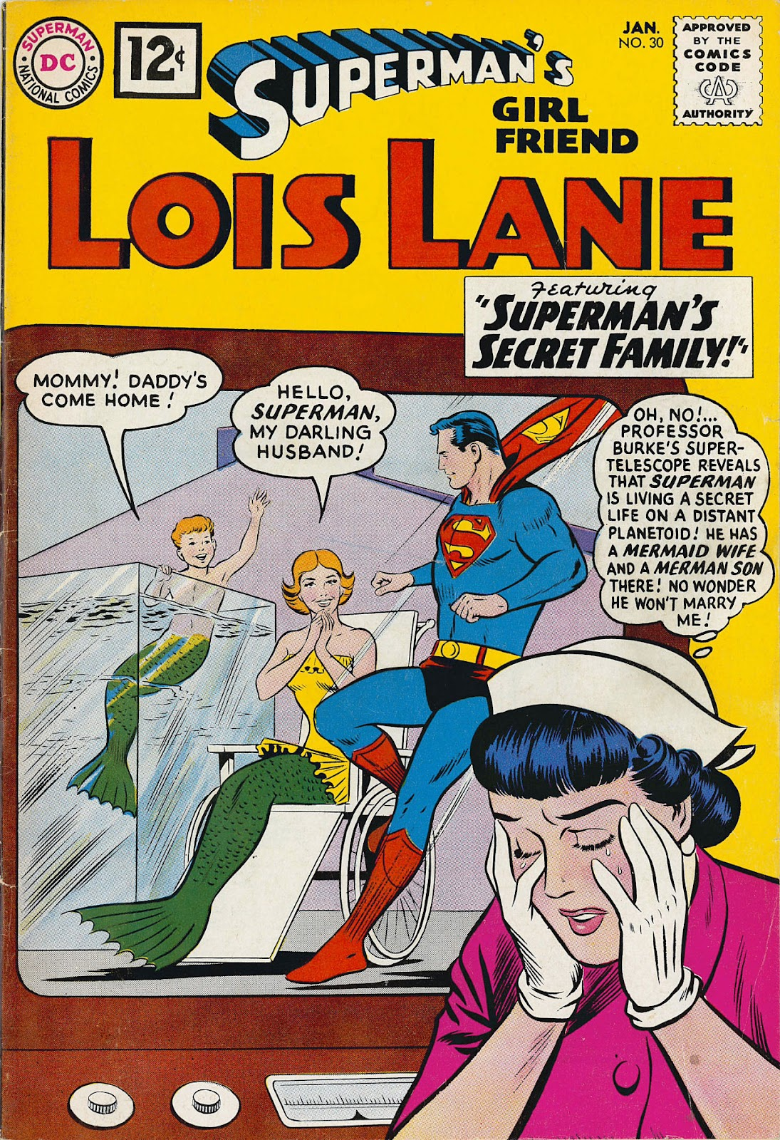 Supermans Girl Friend, Lois Lane 30 Page 1