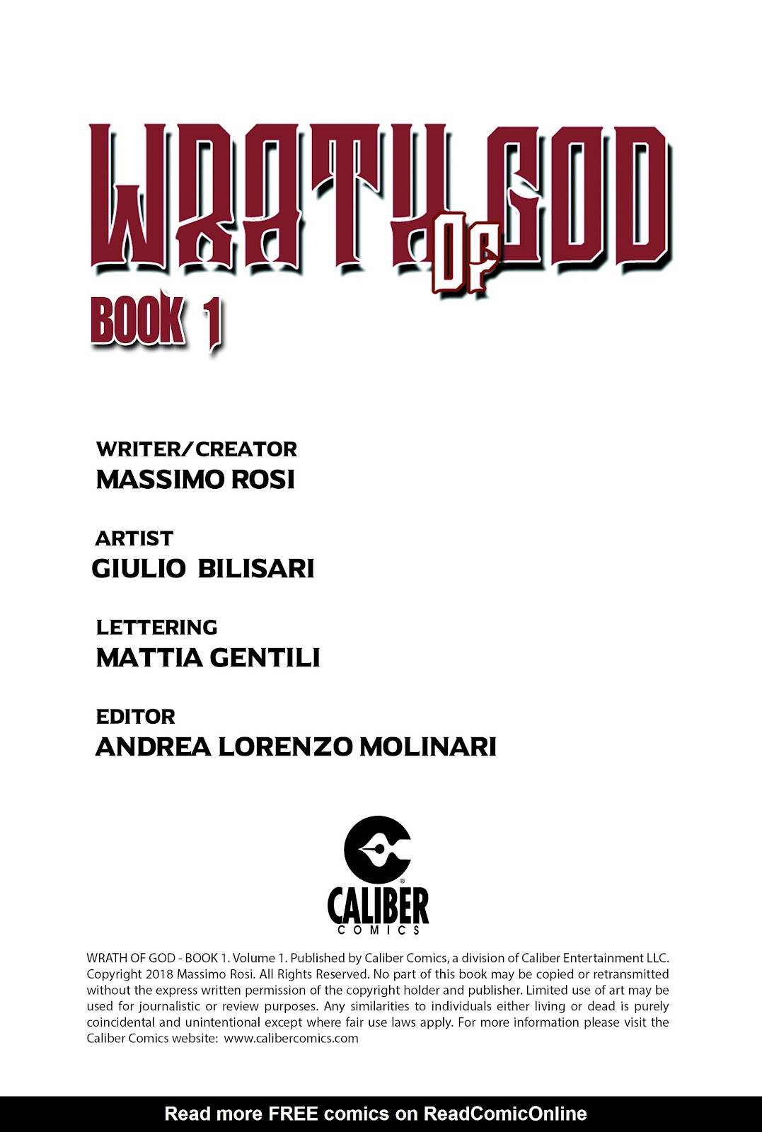 Read online Wrath of God comic -  Issue # _TPB - 2