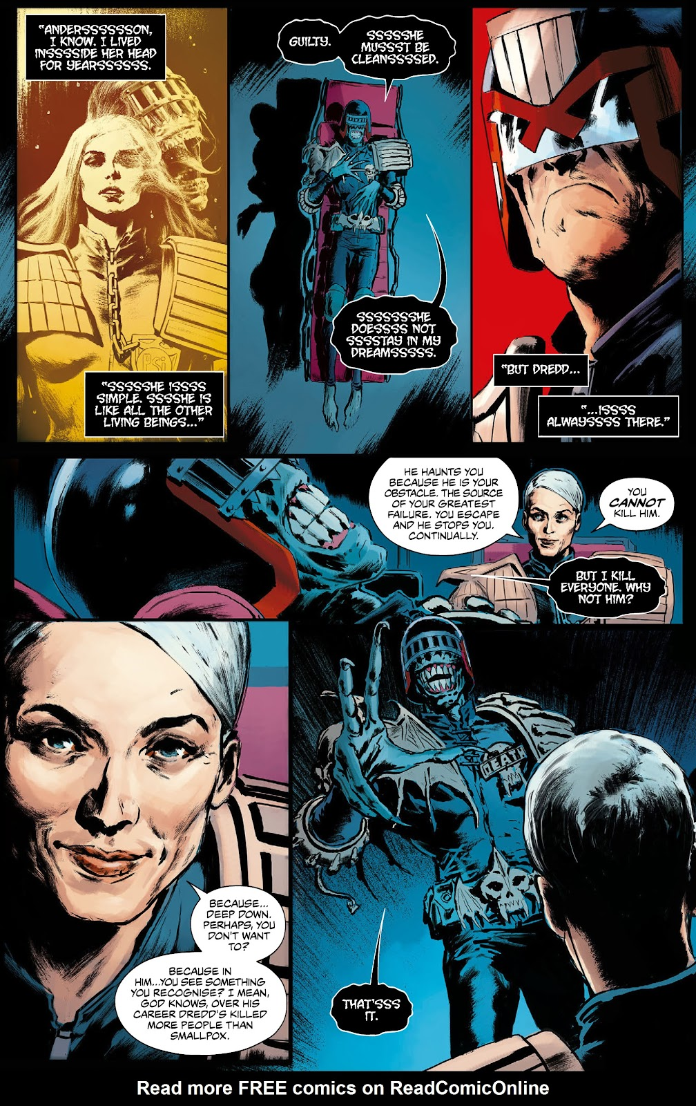 Read online 2000 AD Villains Special comic -  Issue # Full - 7