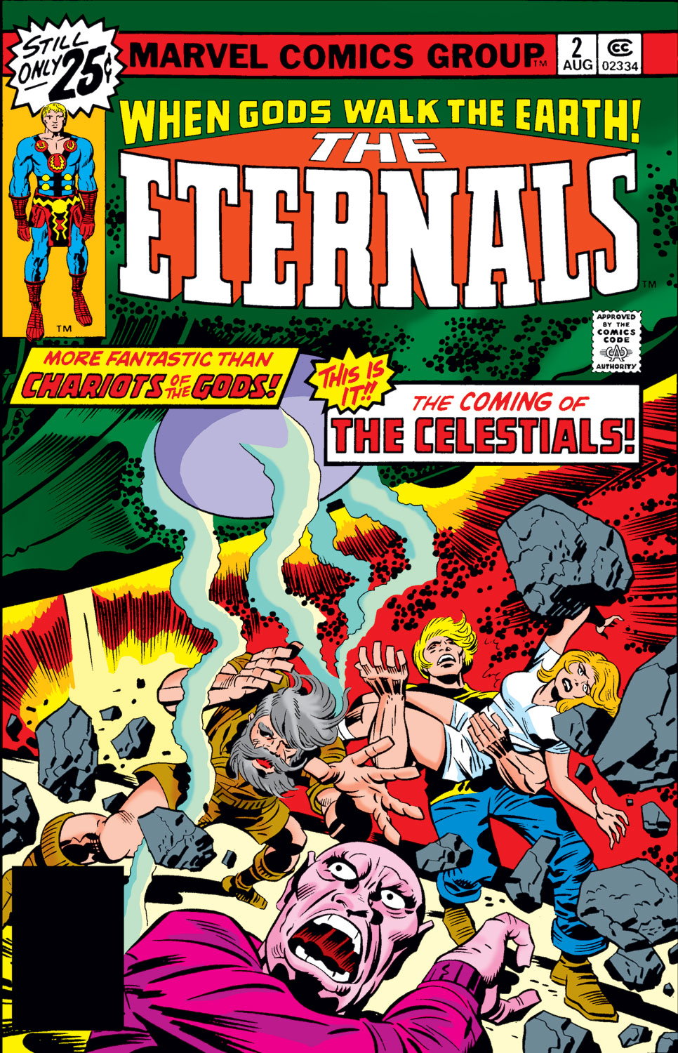 The Eternals issue 2 - Page 1