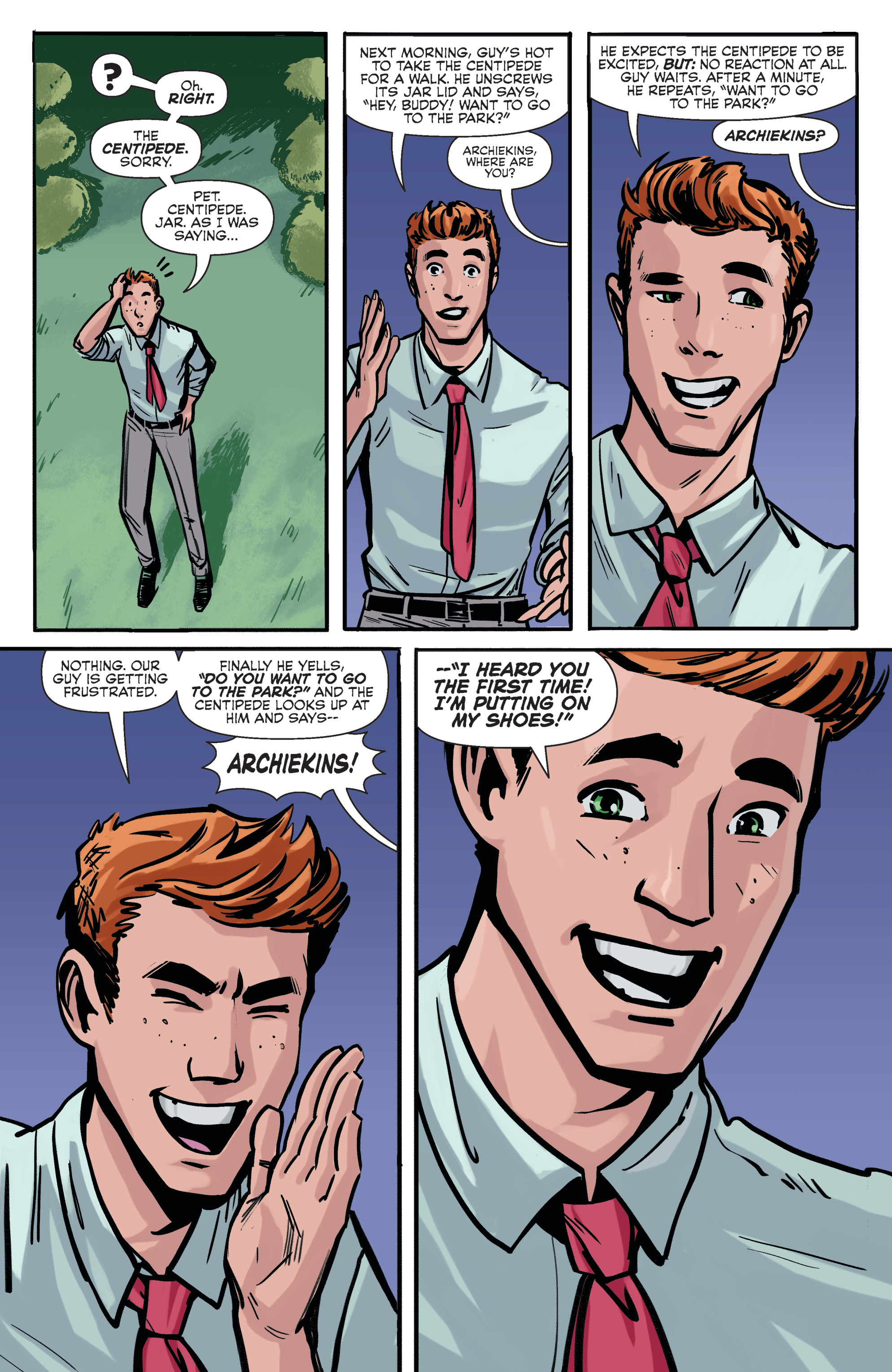Read online Archie (2015) comic -  Issue #5 - 23