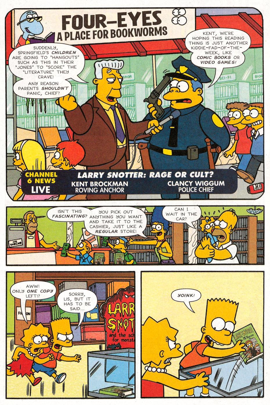 Read online Simpsons Comics Presents Bart Simpson comic -  Issue #30 - 4