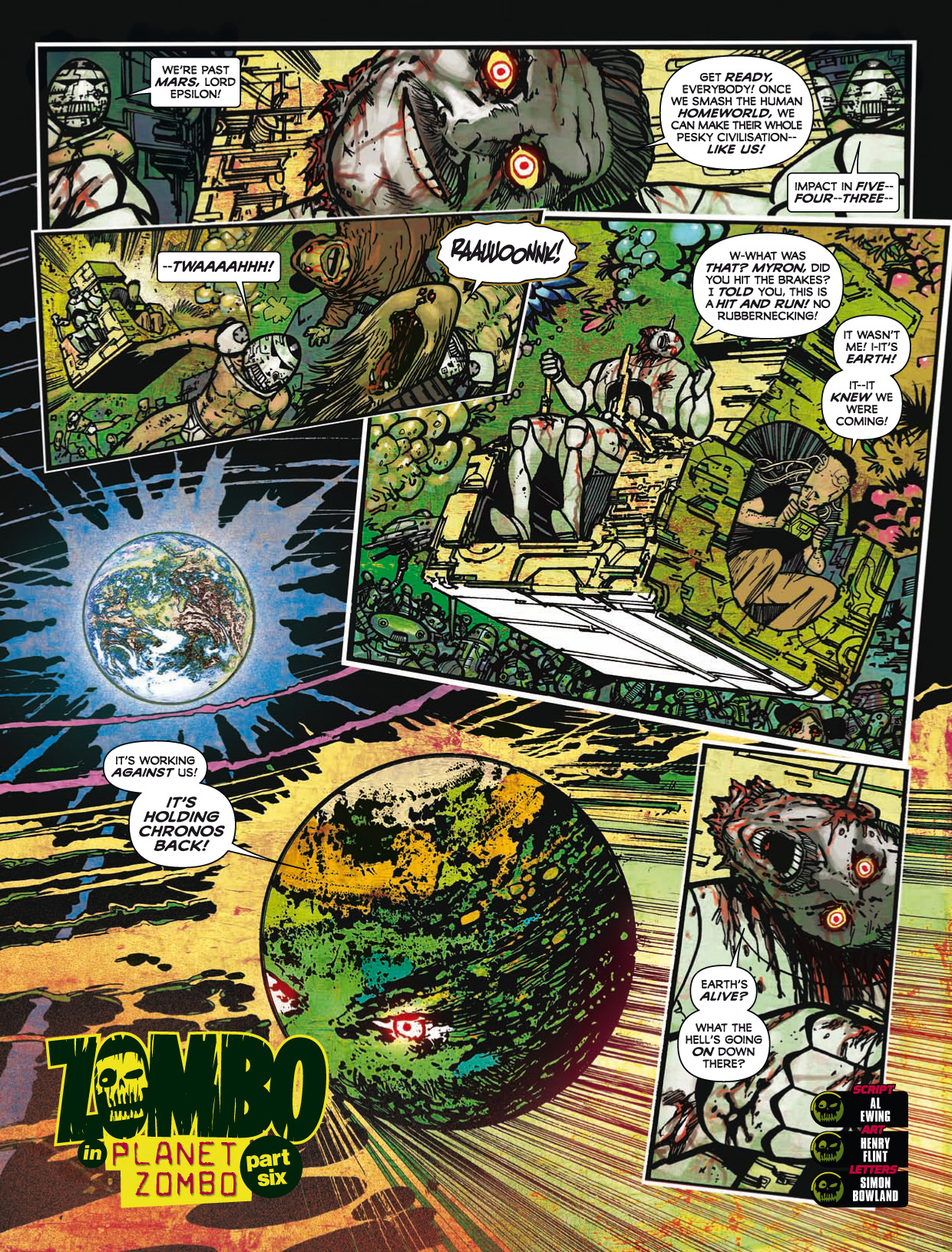 Read online 2000 AD comic -  Issue #1746 - 167