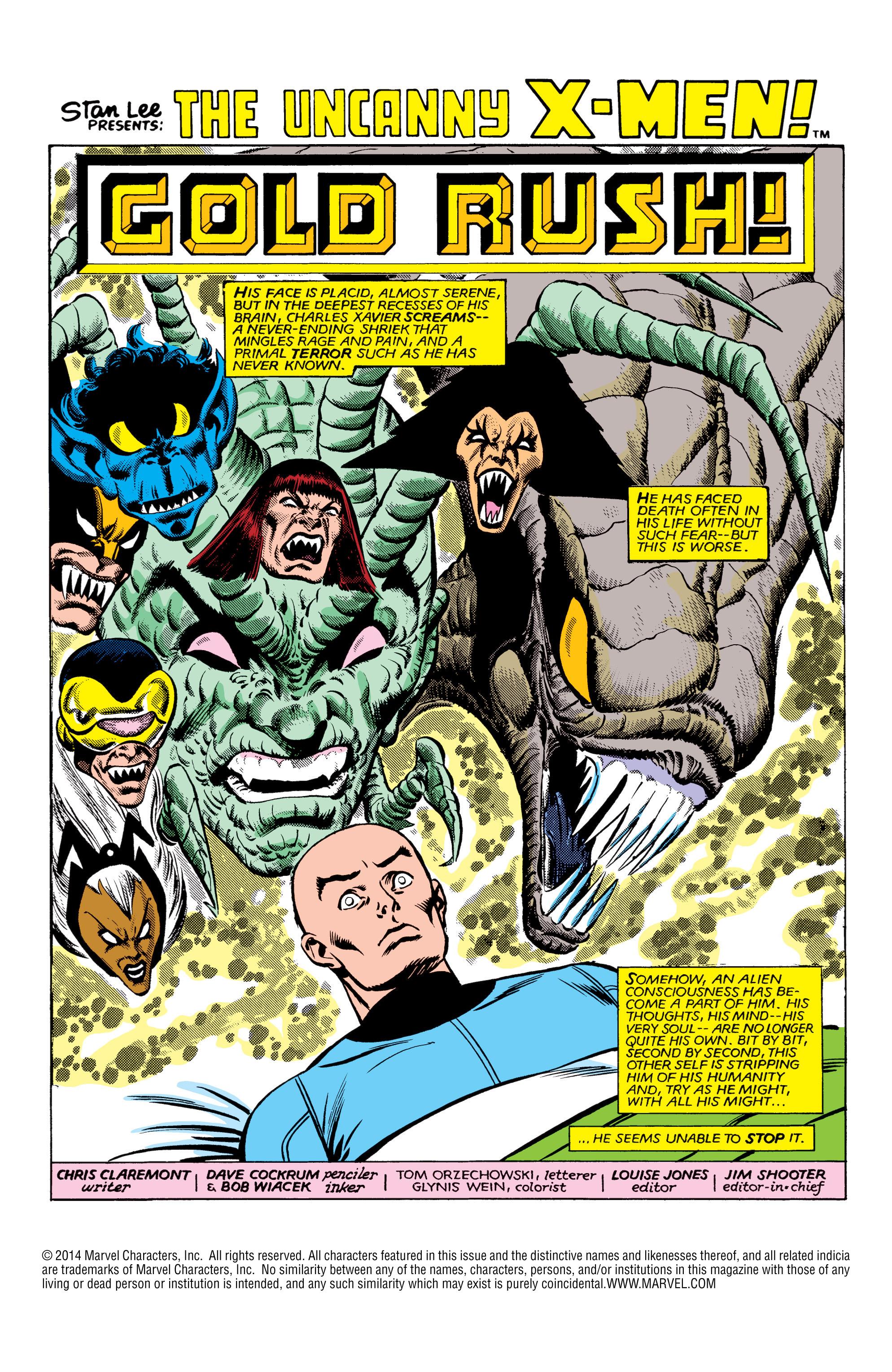 Read online Uncanny X-Men (1963) comic -  Issue #161 - 2