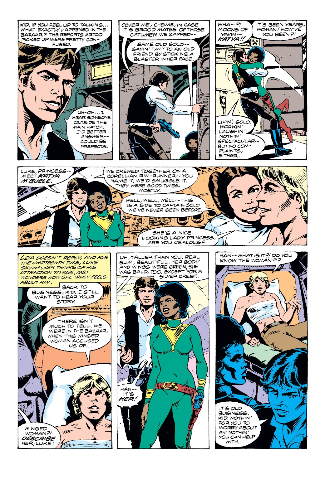 Read online Star Wars Legends: The Original Marvel Years - Epic Collection comic -  Issue # TPB 2 (Part 3) - 9