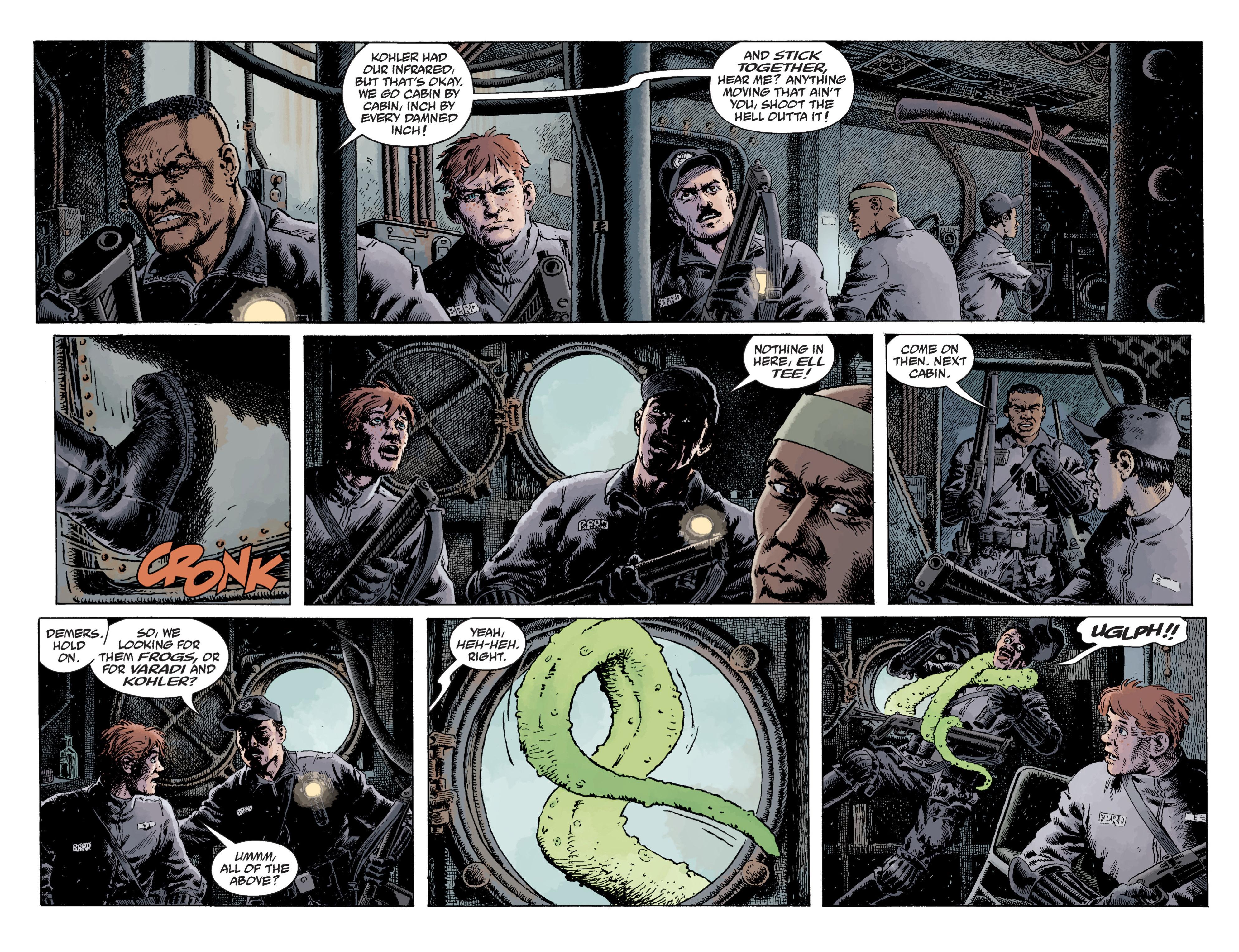 Read online B.P.R.D. (2003) comic -  Issue # TPB 12 - 68