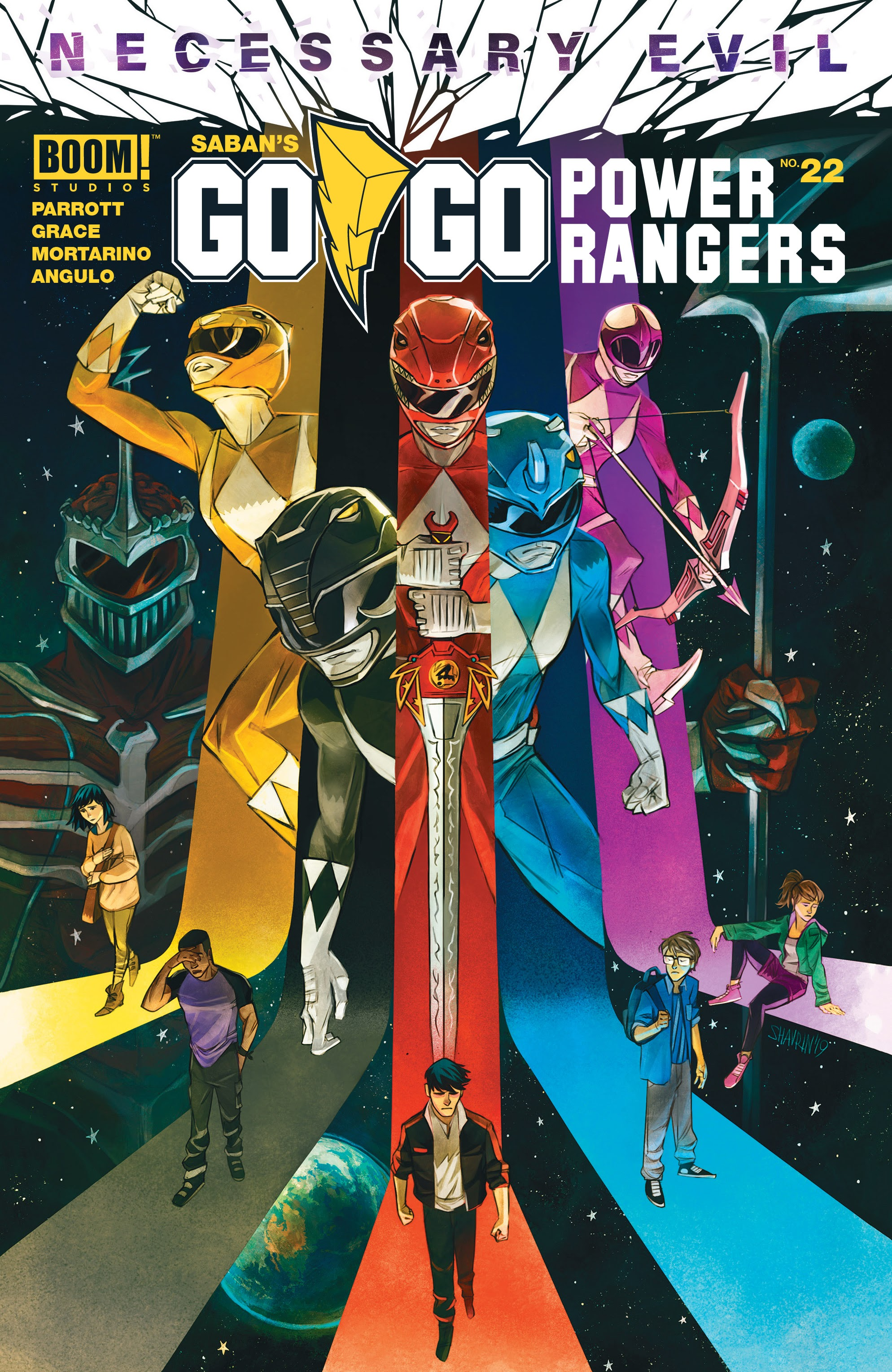 Read online Saban's Go Go Power Rangers comic -  Issue #22 - 1