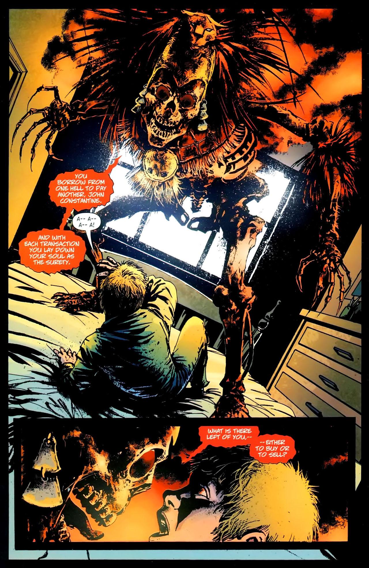 Read online John Constantine Hellblazer: All His Engines comic -  Issue # Full - 12