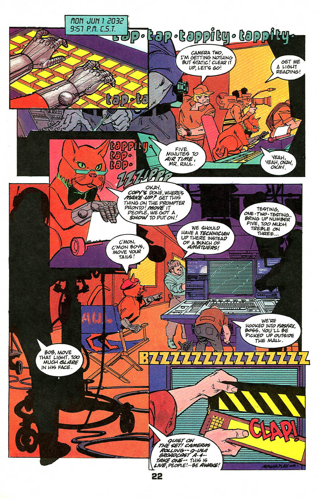 Read online American Flagg! comic -  Issue #49 - 28