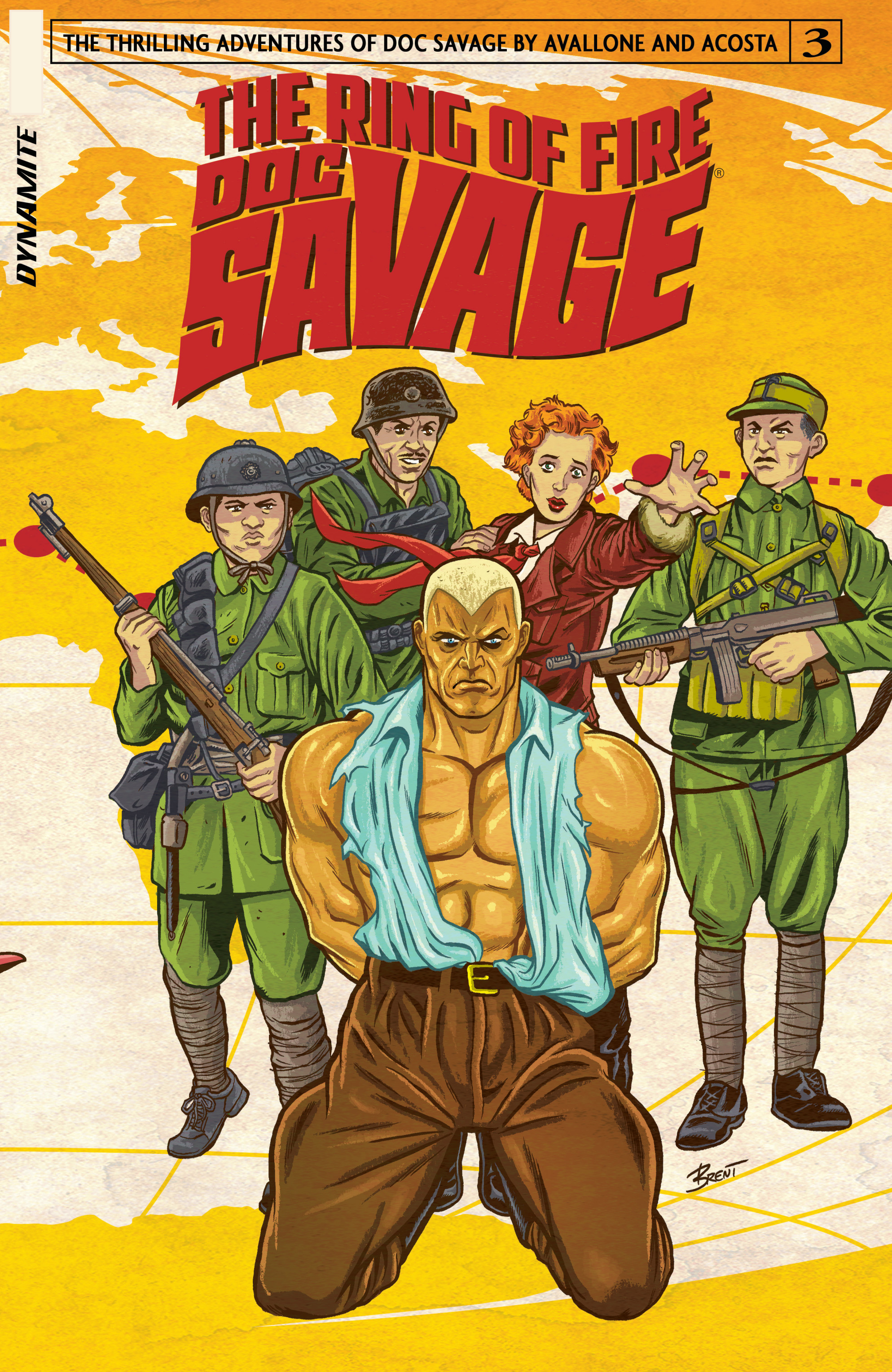 Doc Savage: Ring Of Fire 3 Page 1