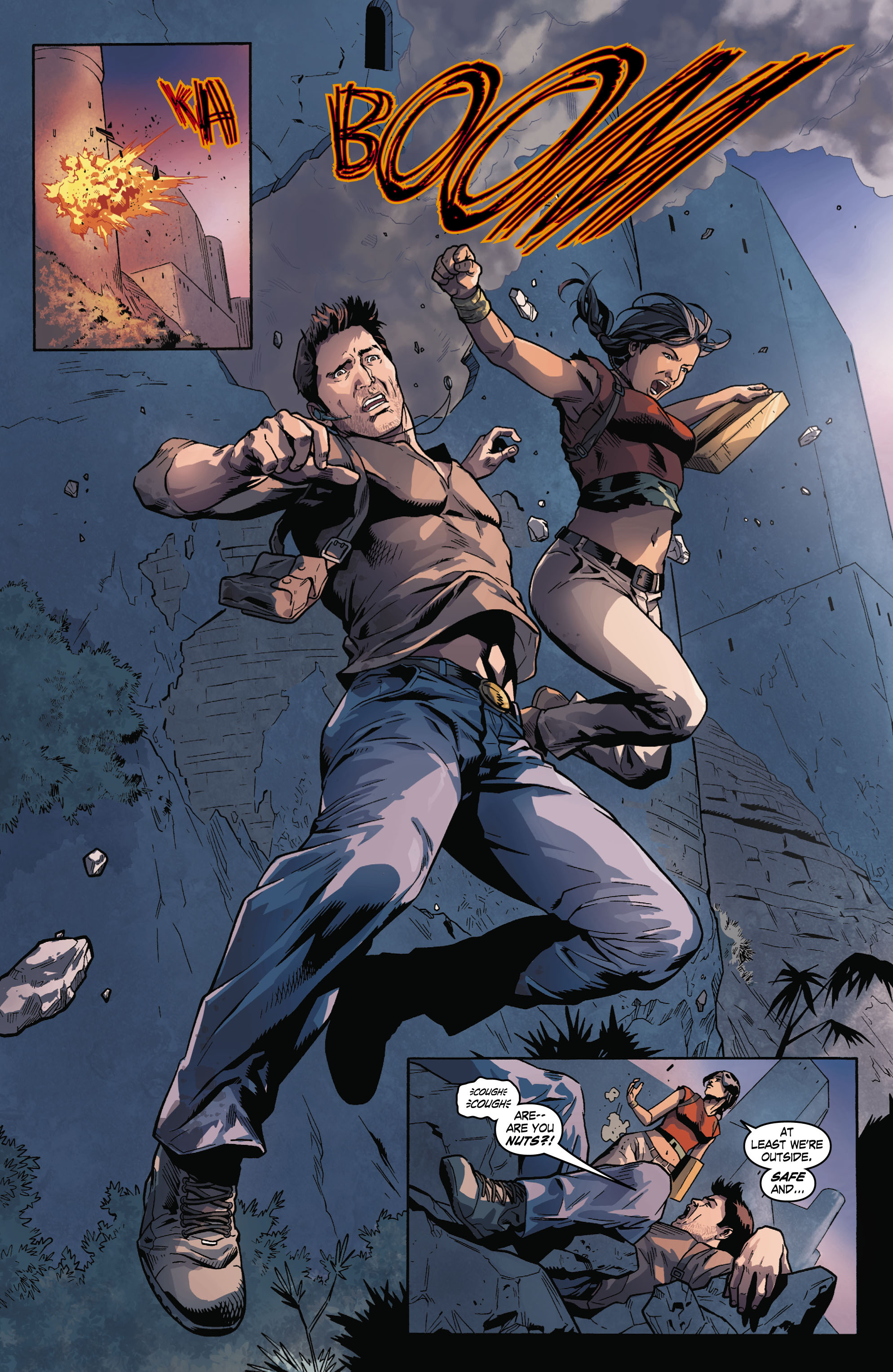 Read online Uncharted comic -  Issue #2 - 13