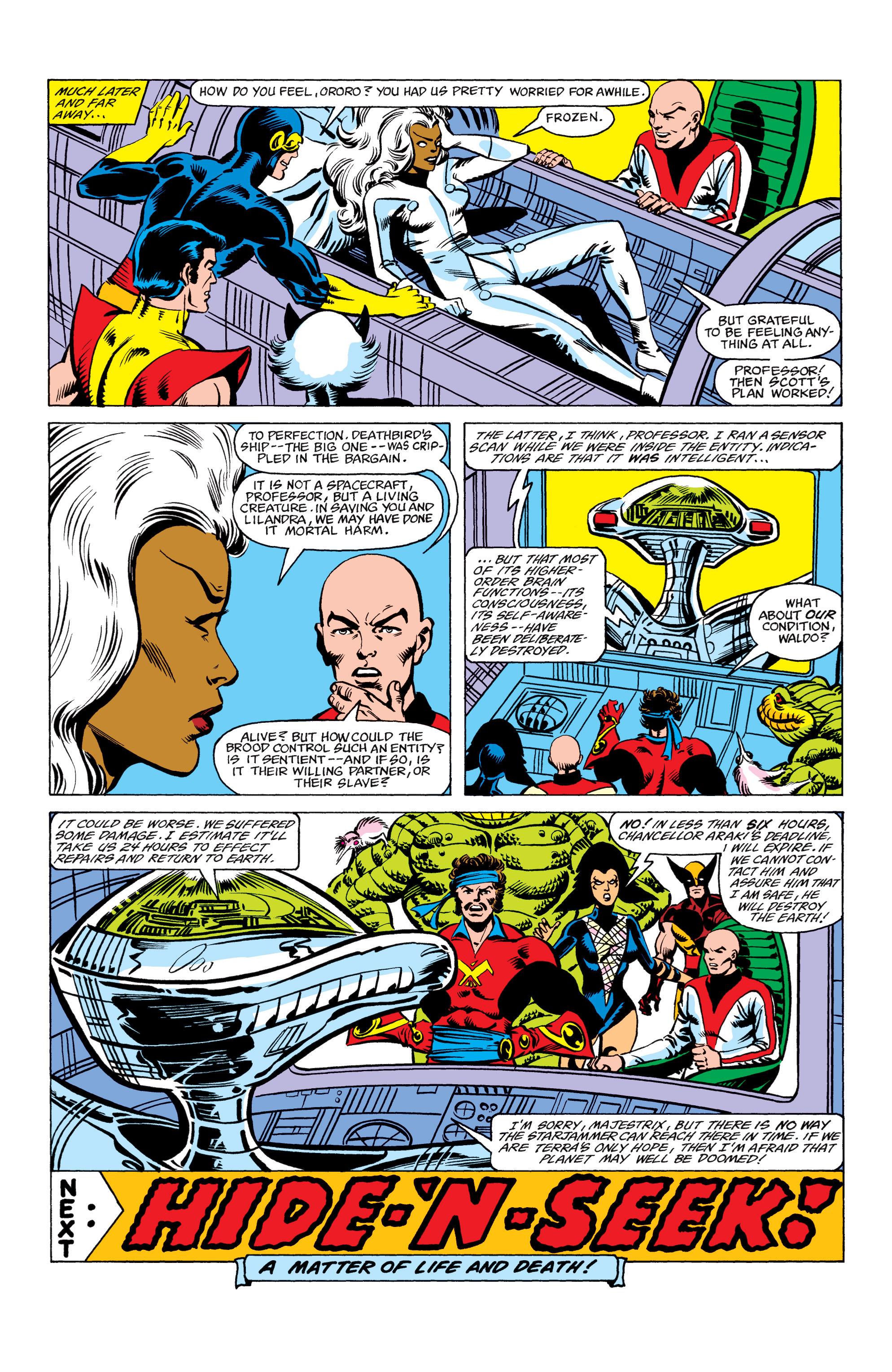 Read online Uncanny X-Men (1963) comic -  Issue #156 - 22
