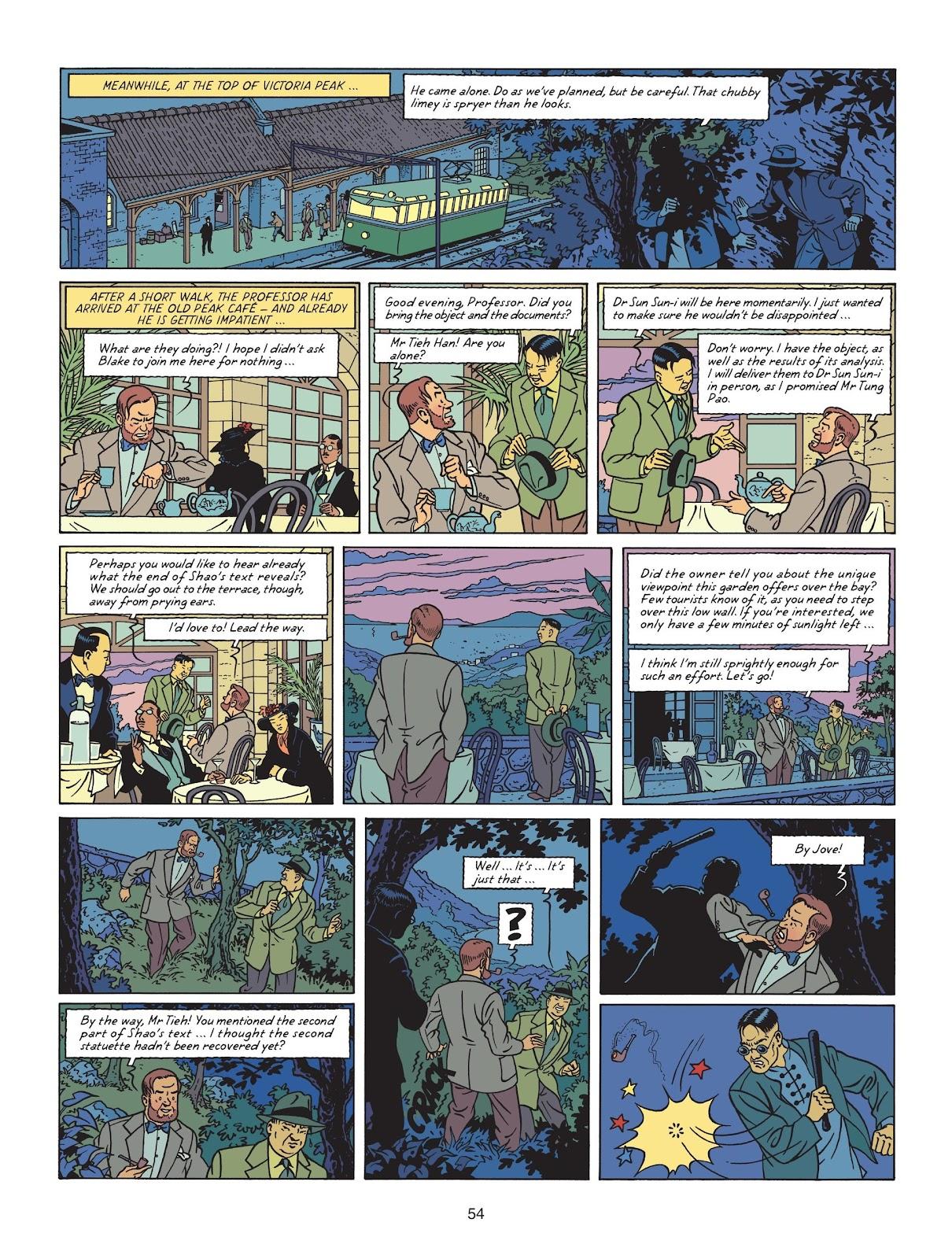 Read online Blake & Mortimer comic -  Issue #25 - 56
