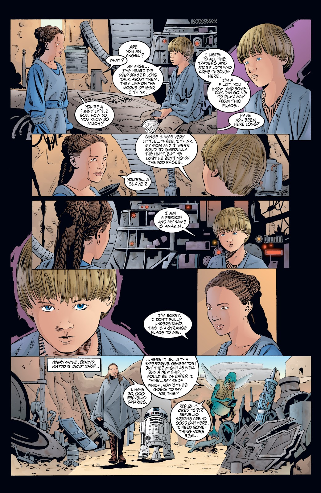 Read online Star Wars Legends: Rise of the Sith - Epic Collection comic -  Issue # TPB 2 (Part 3) - 68