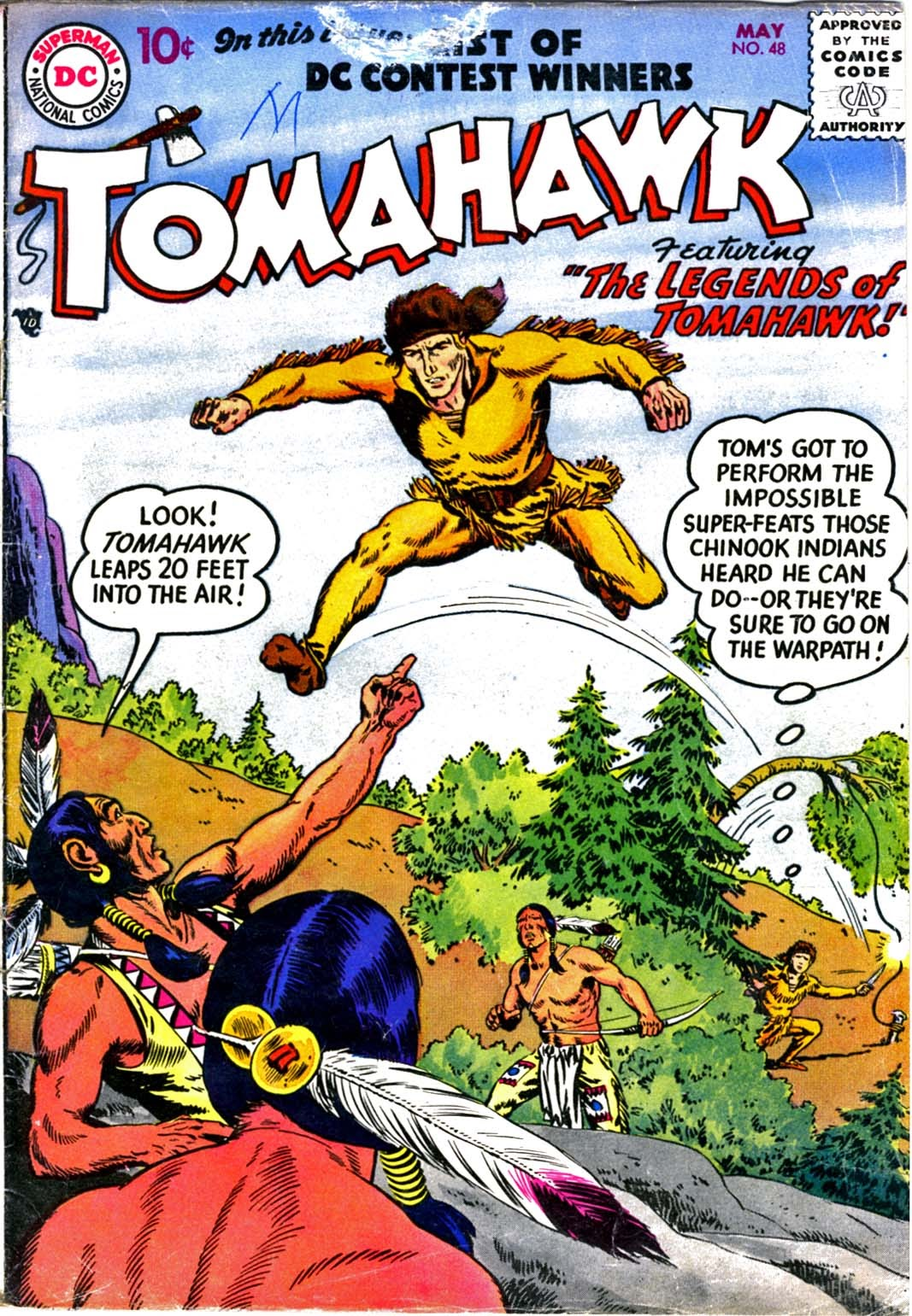 Read online Tomahawk comic -  Issue #48 - 1