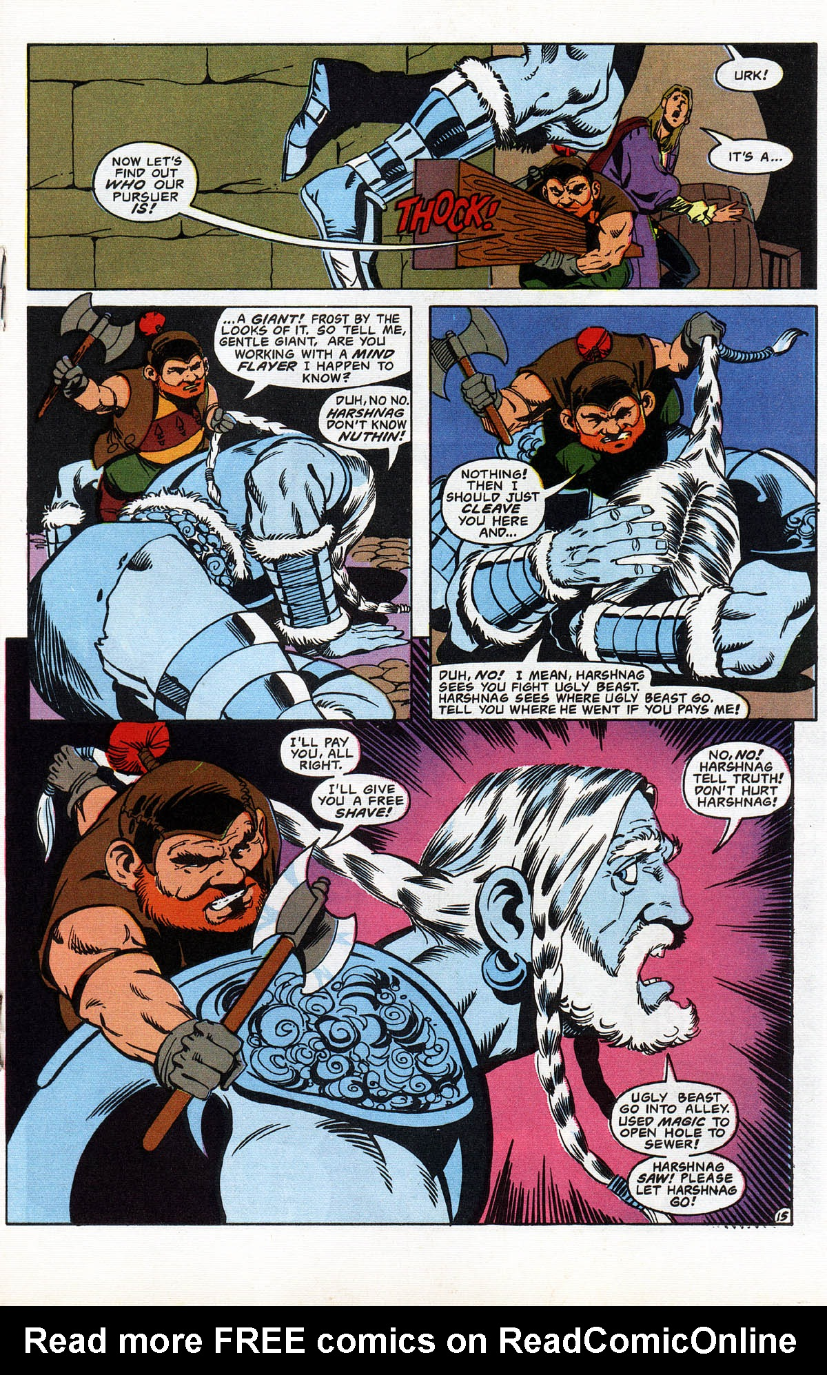 Read online Advanced Dungeons & Dragons comic -  Issue #10 - 18