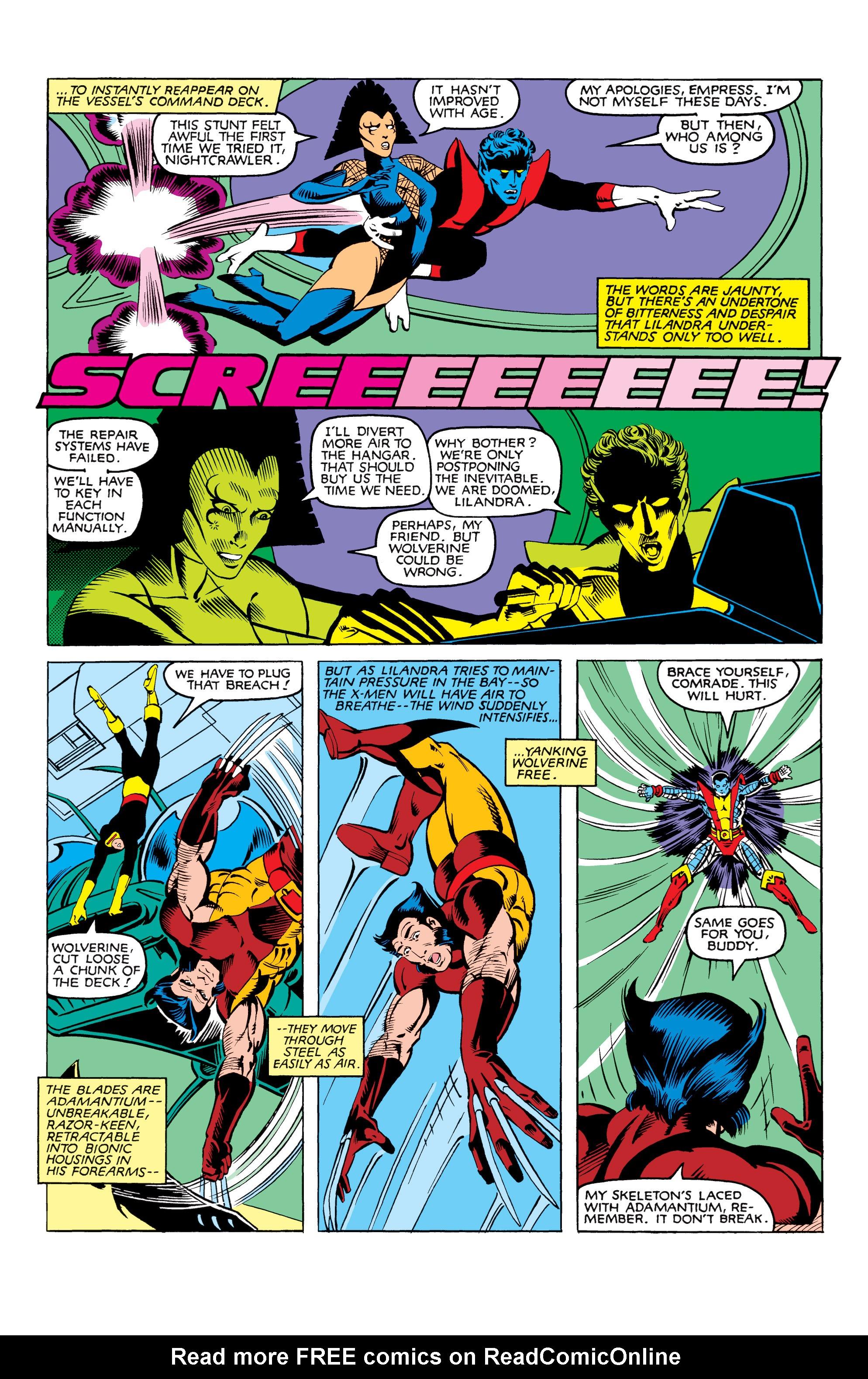 Read online Uncanny X-Men (1963) comic -  Issue #165 - 4