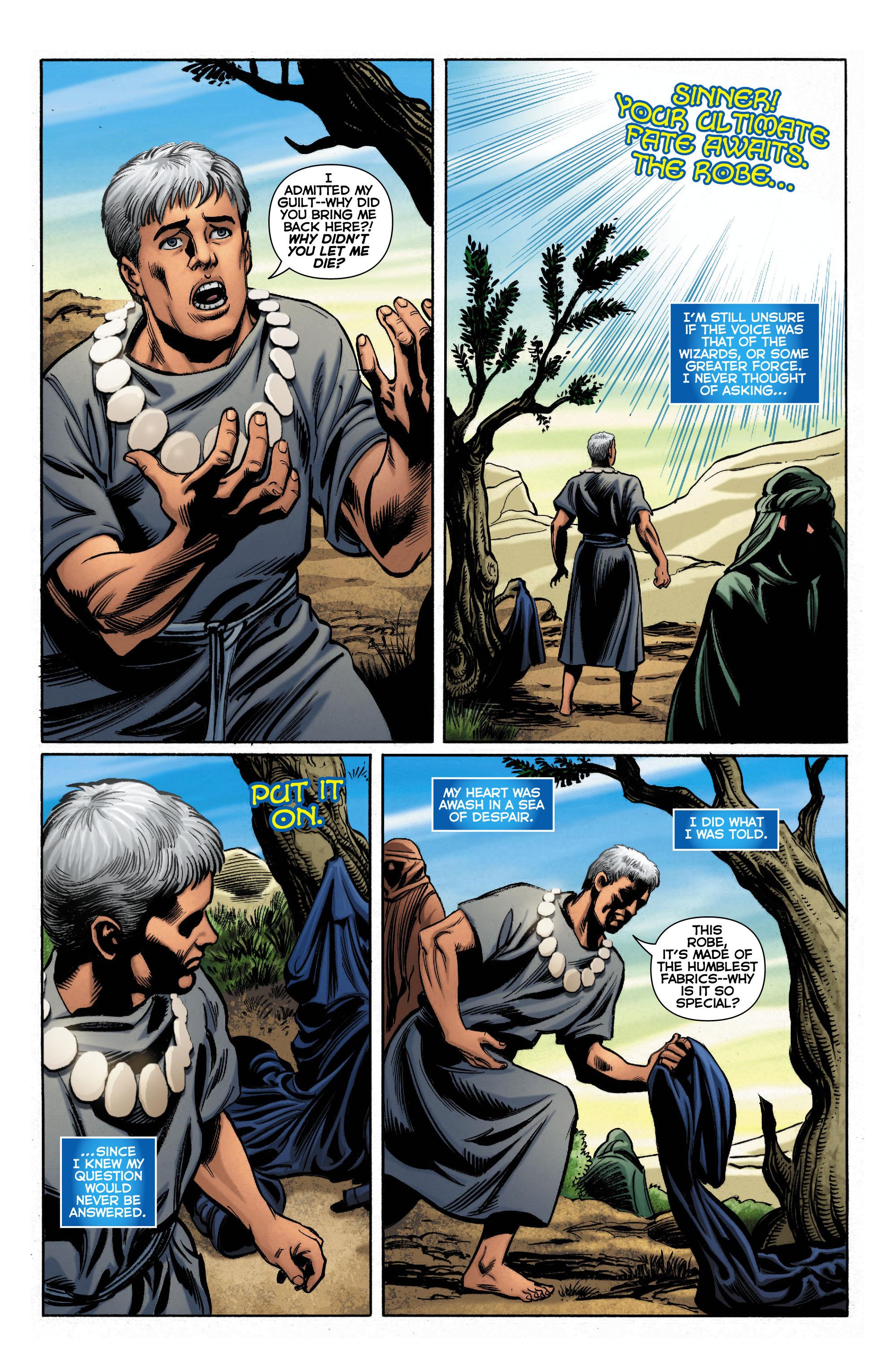 Read online Trinity of Sin: The Phantom Stranger comic -  Issue #0 - 8