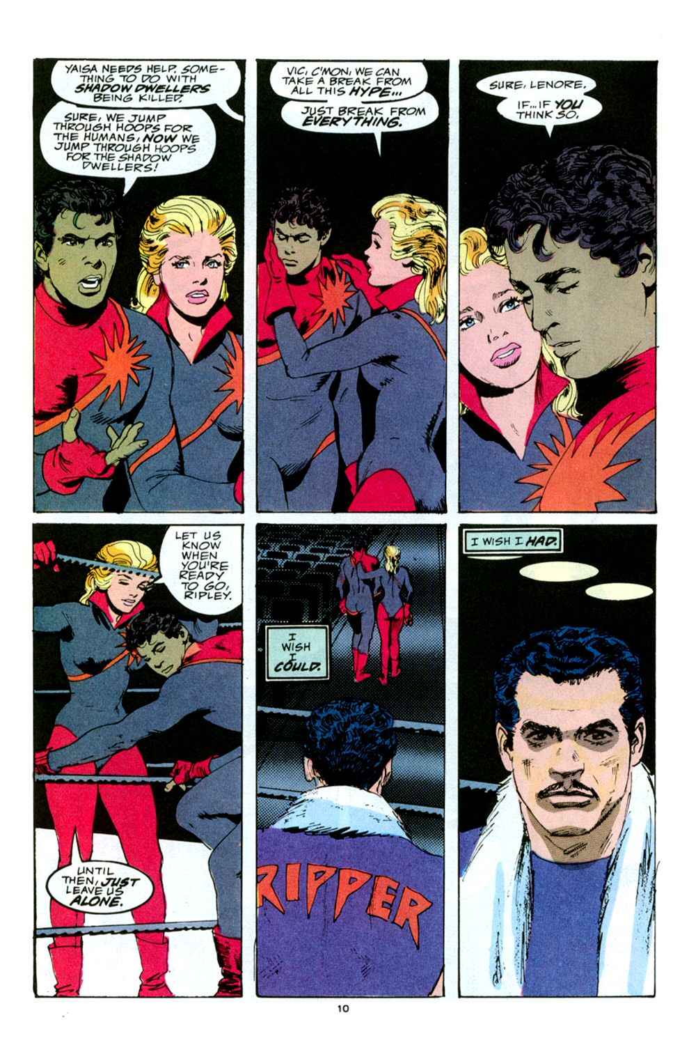Read online Powerline comic -  Issue #5 - 12