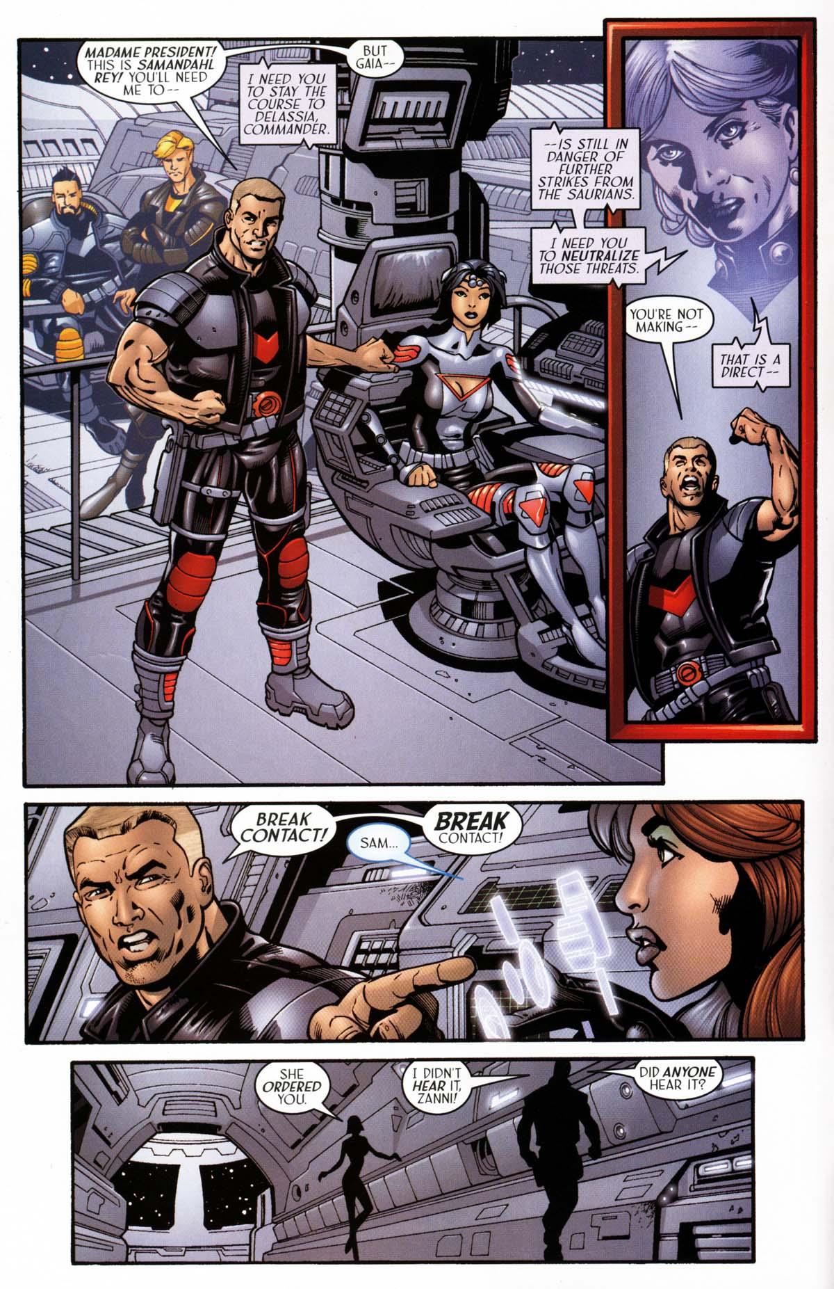 Read online Sigil (2000) comic -  Issue #26 - 8