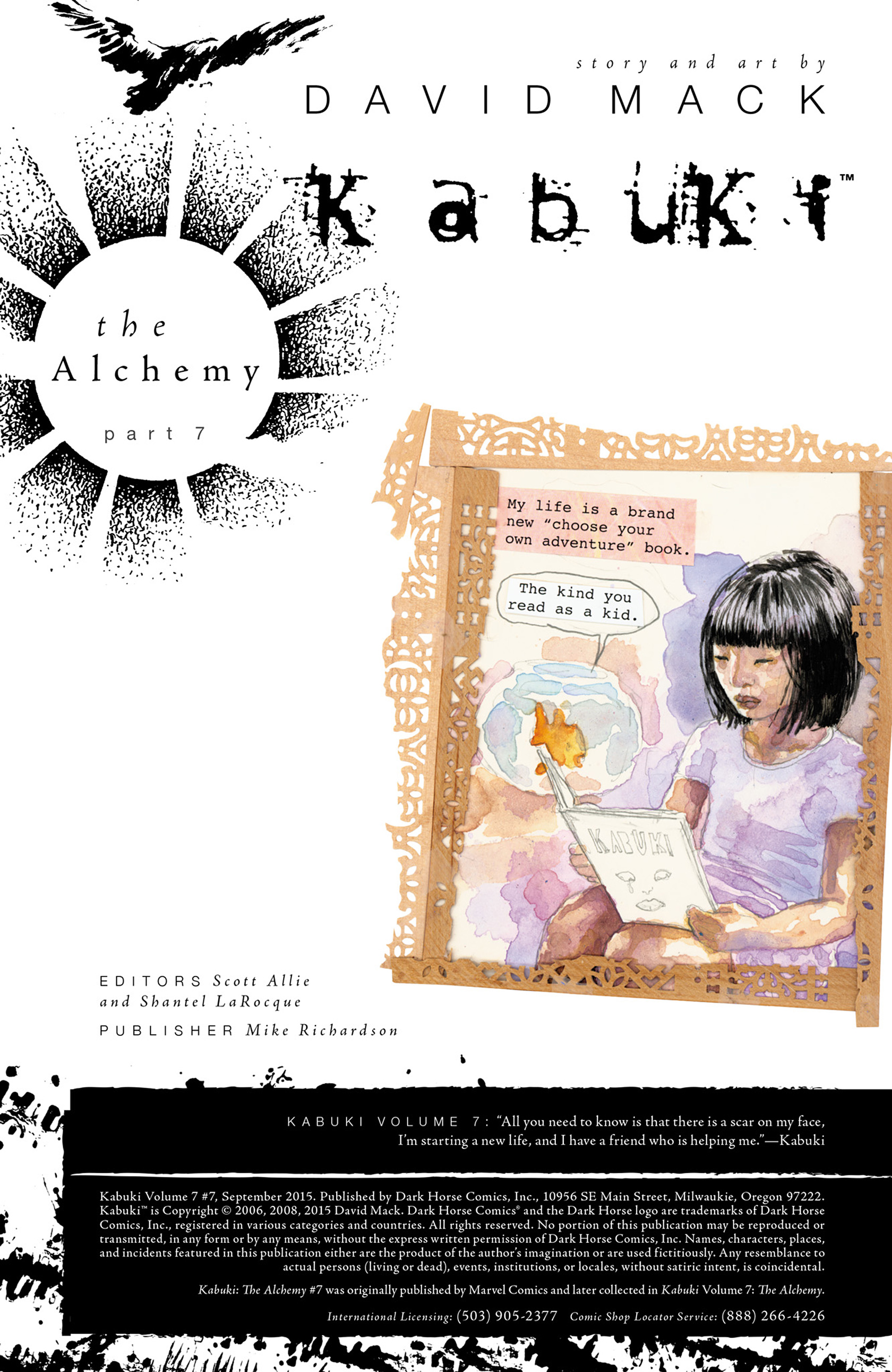 Read online Kabuki (2004) comic -  Issue #7 - 2