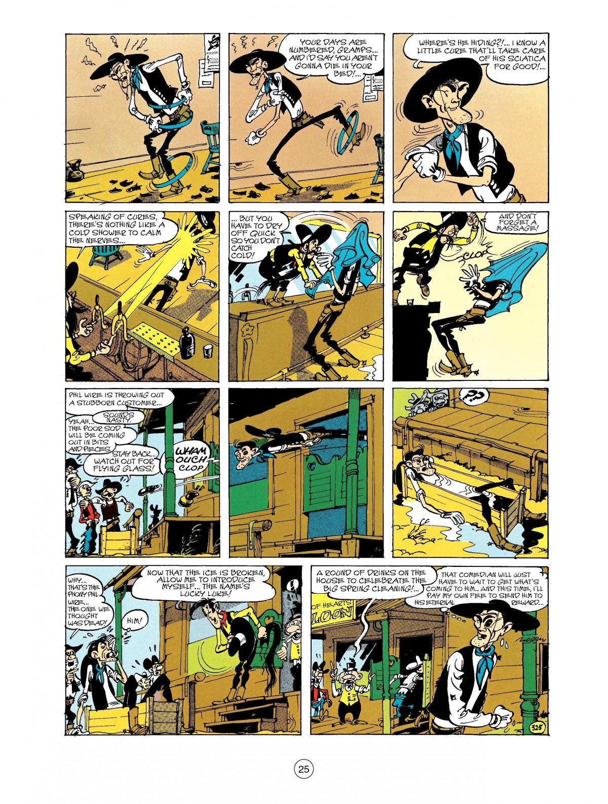 Read online A Lucky Luke Adventure comic -  Issue #40 - 25