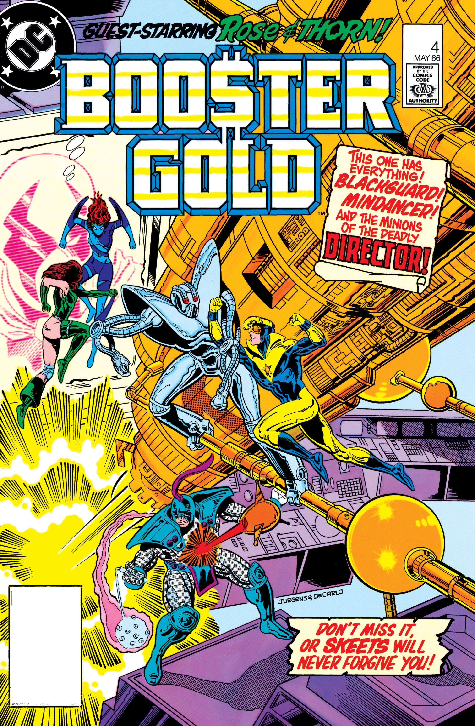 Booster Gold 1986 Issue 4