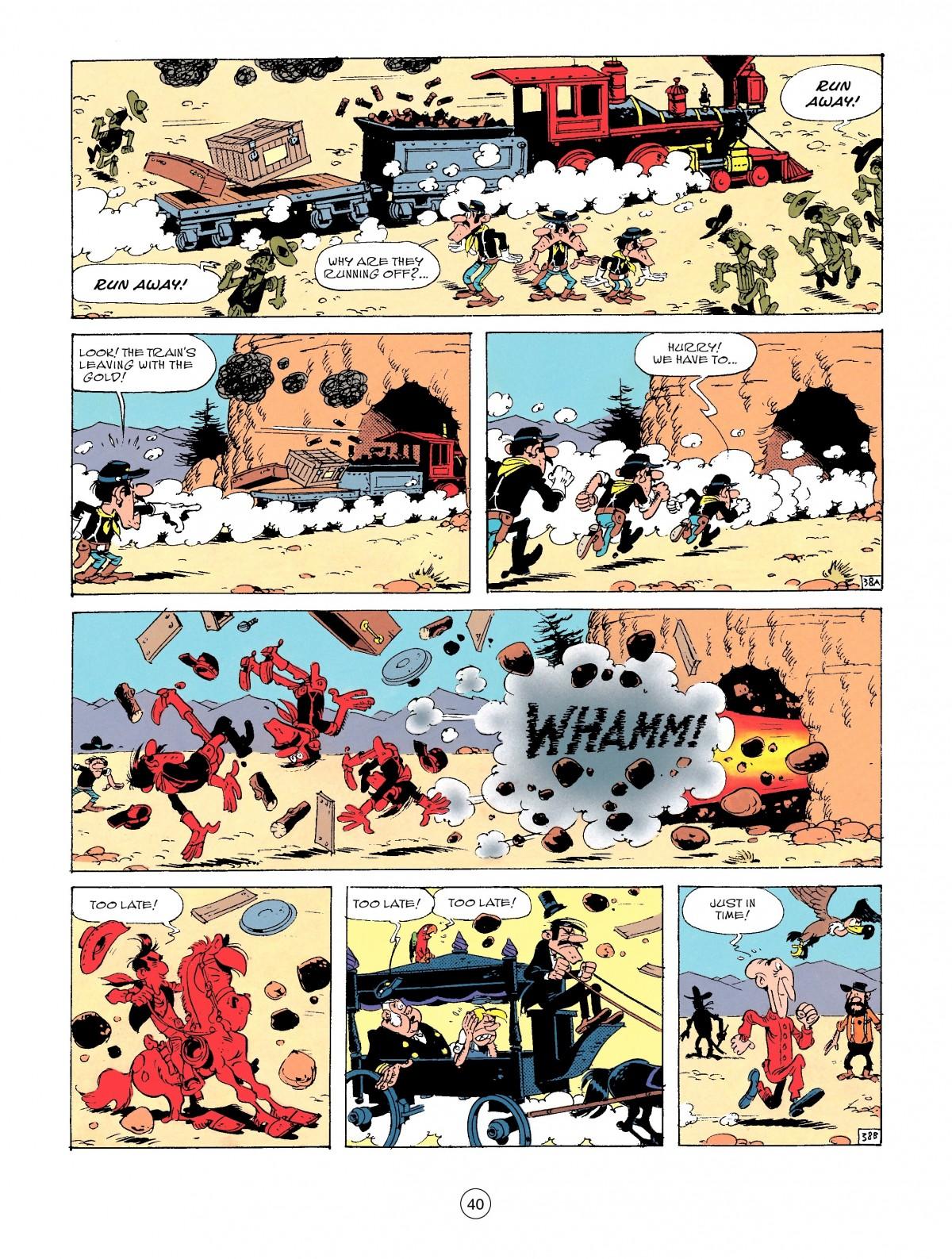 Read online A Lucky Luke Adventure comic -  Issue #53 - 40