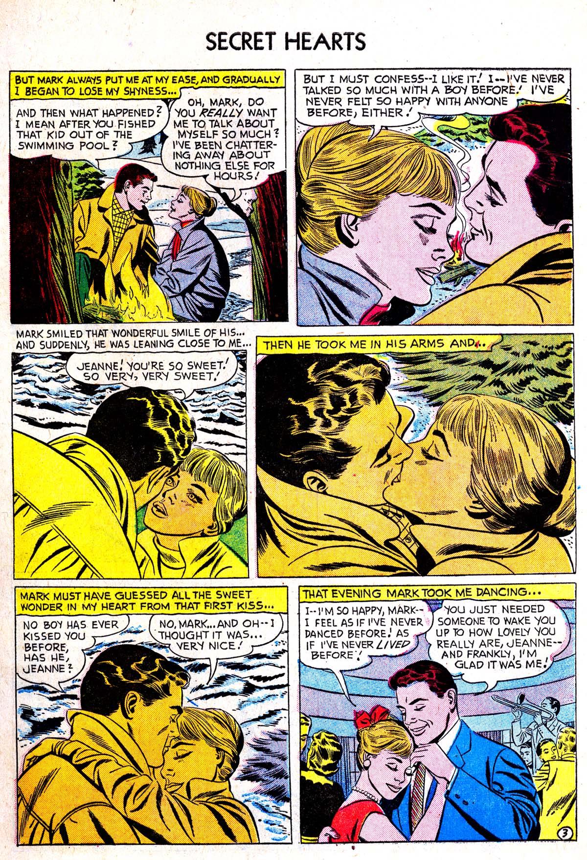 Read online Secret Hearts comic -  Issue #38 - 5