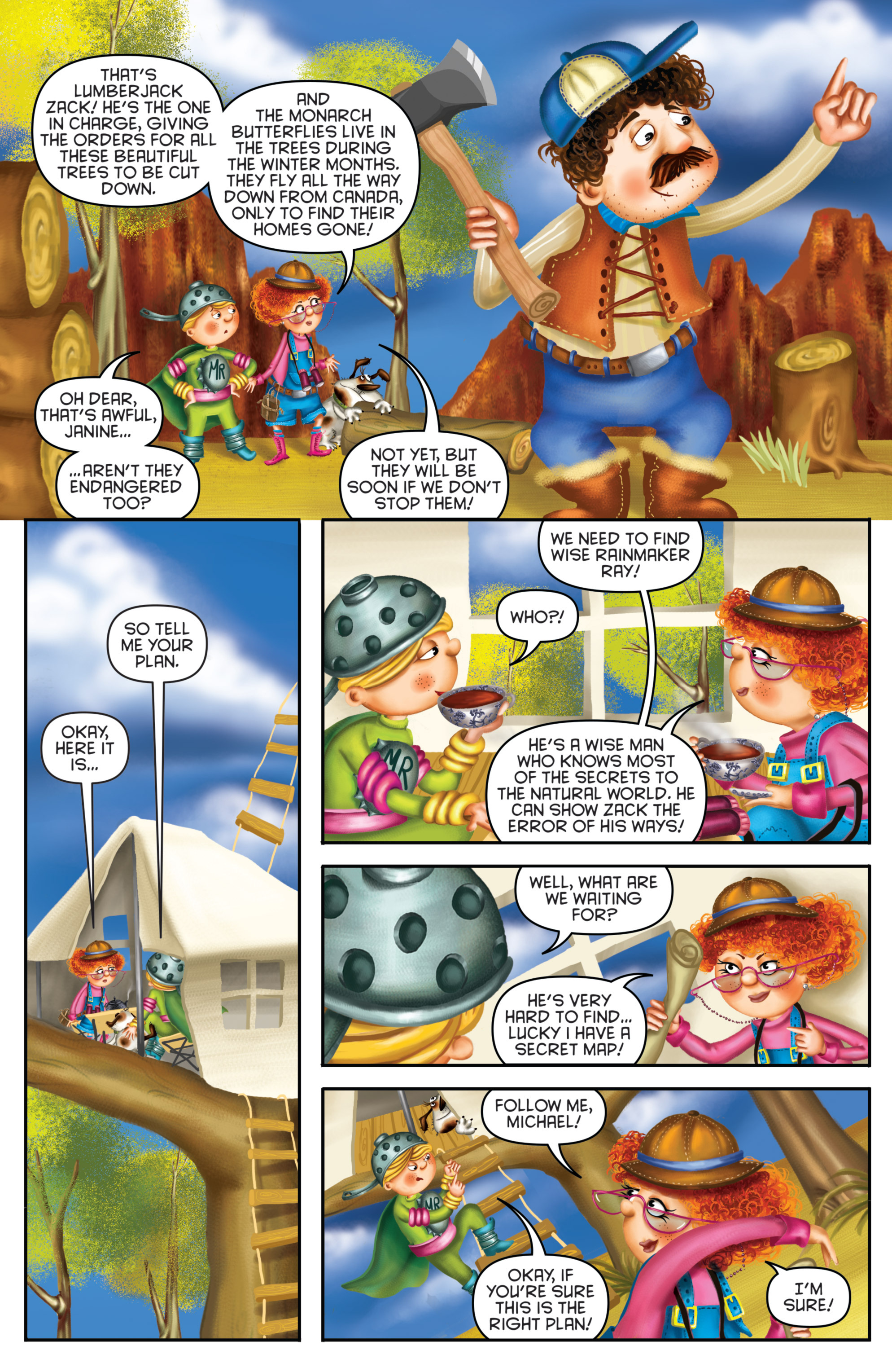 Read online Michael Recycle comic -  Issue #3 - 11