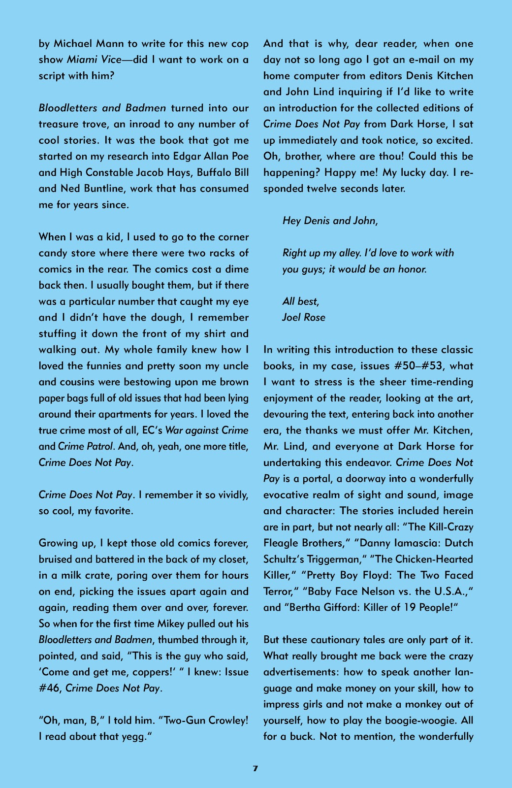 Read online Crime Does Not Pay Archives comic -  Issue # TPB 8 (Part 1) - 9