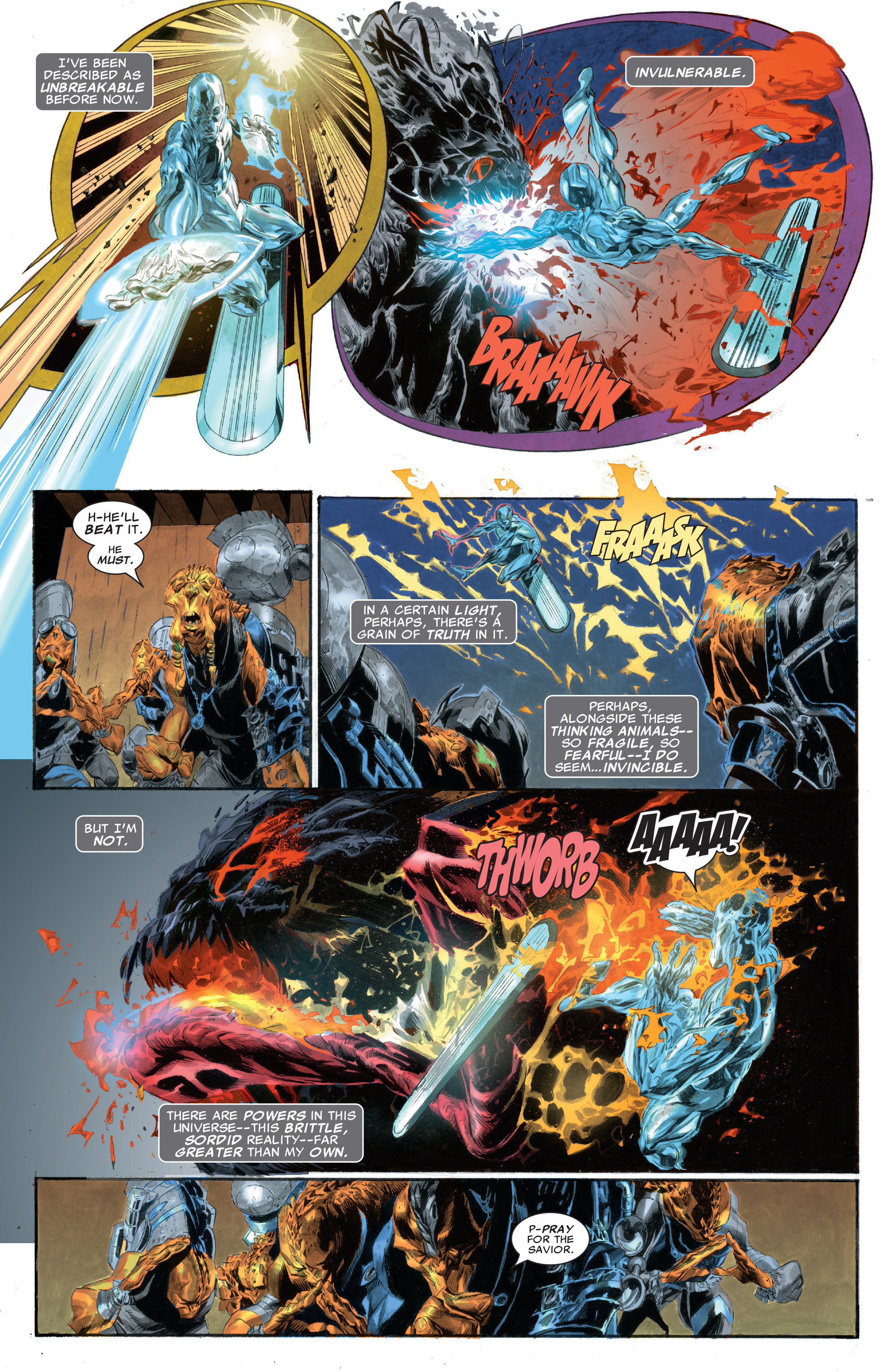 Read online Silver Surfer: In Thy Name comic -  Issue #2 - 3