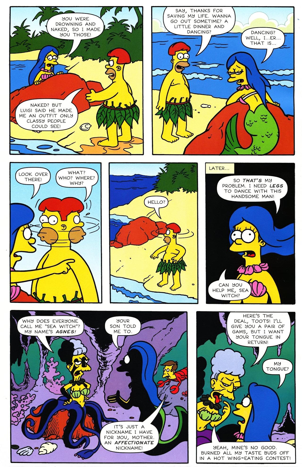 Read online Simpsons Comics comic -  Issue #148 - 6