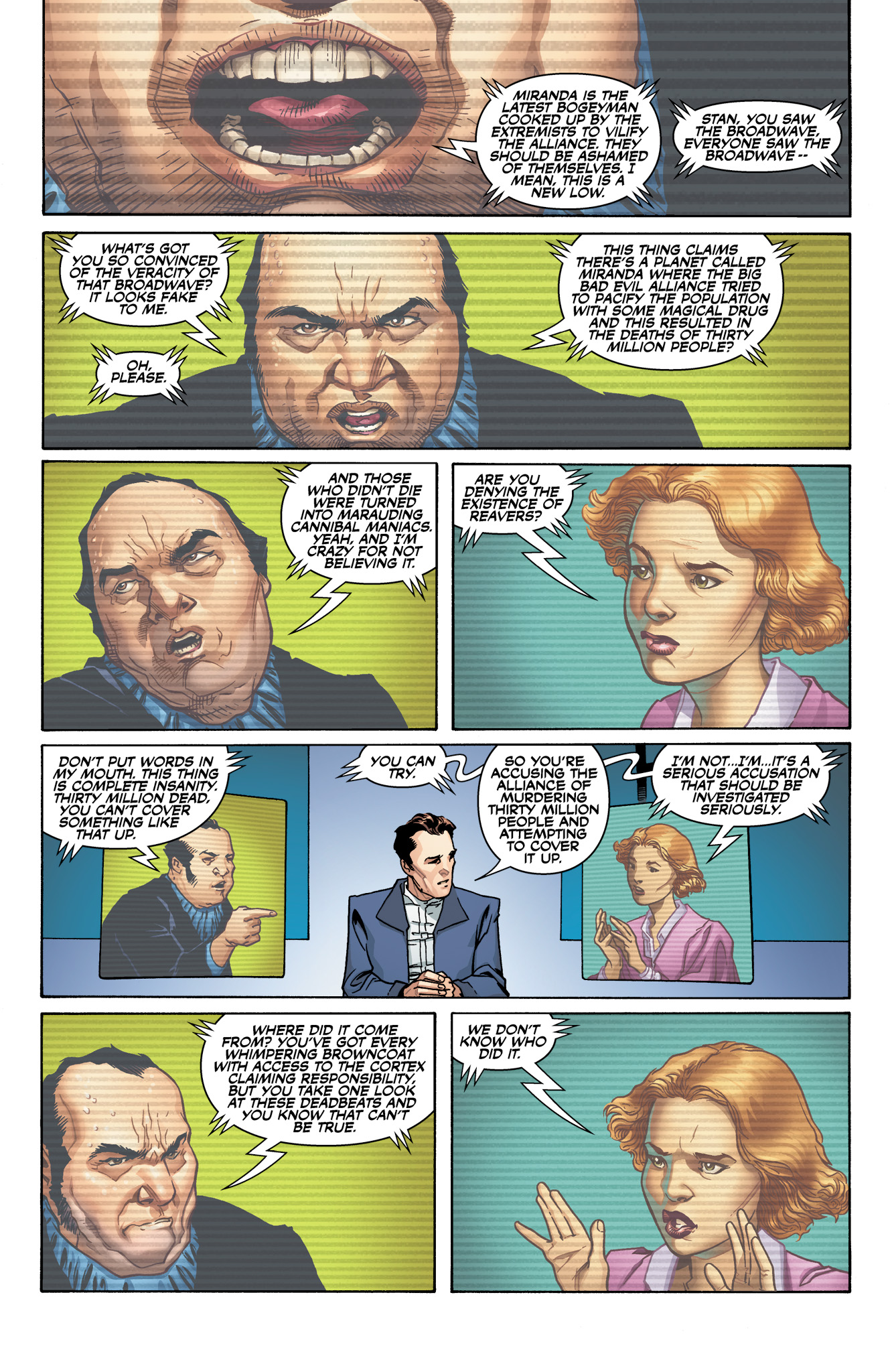 Read online Serenity: Firefly Class 03-K64  Leaves on the Wind comic -  Issue #1 - 3
