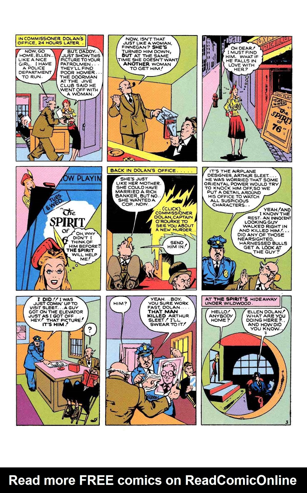 Read online Will Eisner's The Spirit Archives comic -  Issue # TPB 1 (Part 2) - 23