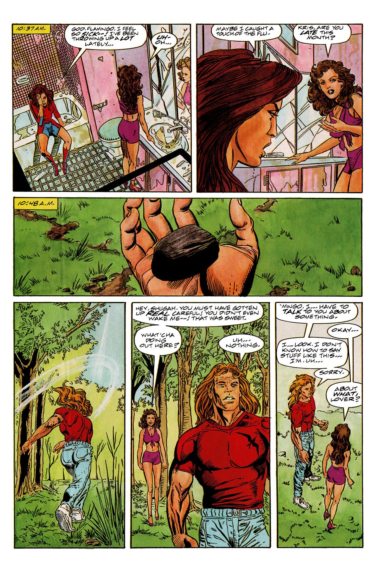 Read online Harbinger (1992) comic -  Issue #6 - 11